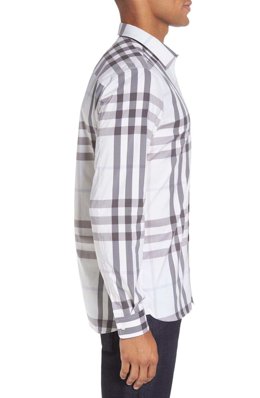 Nelson Check Sport Shirt,                             Alternate thumbnail 58, color,