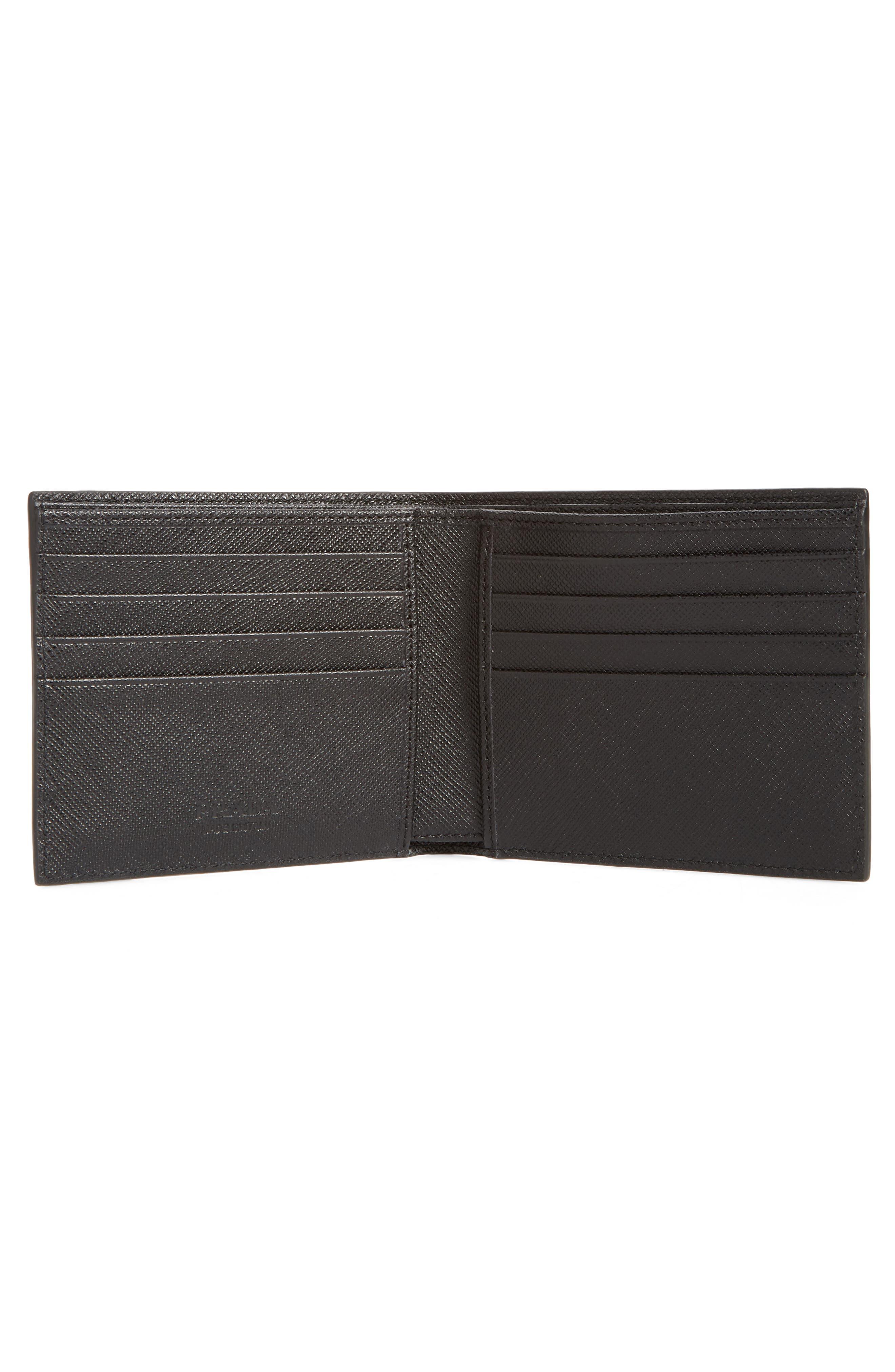 Arrow Calfskin Leather Wallet,                             Alternate thumbnail 2, color,                             911
