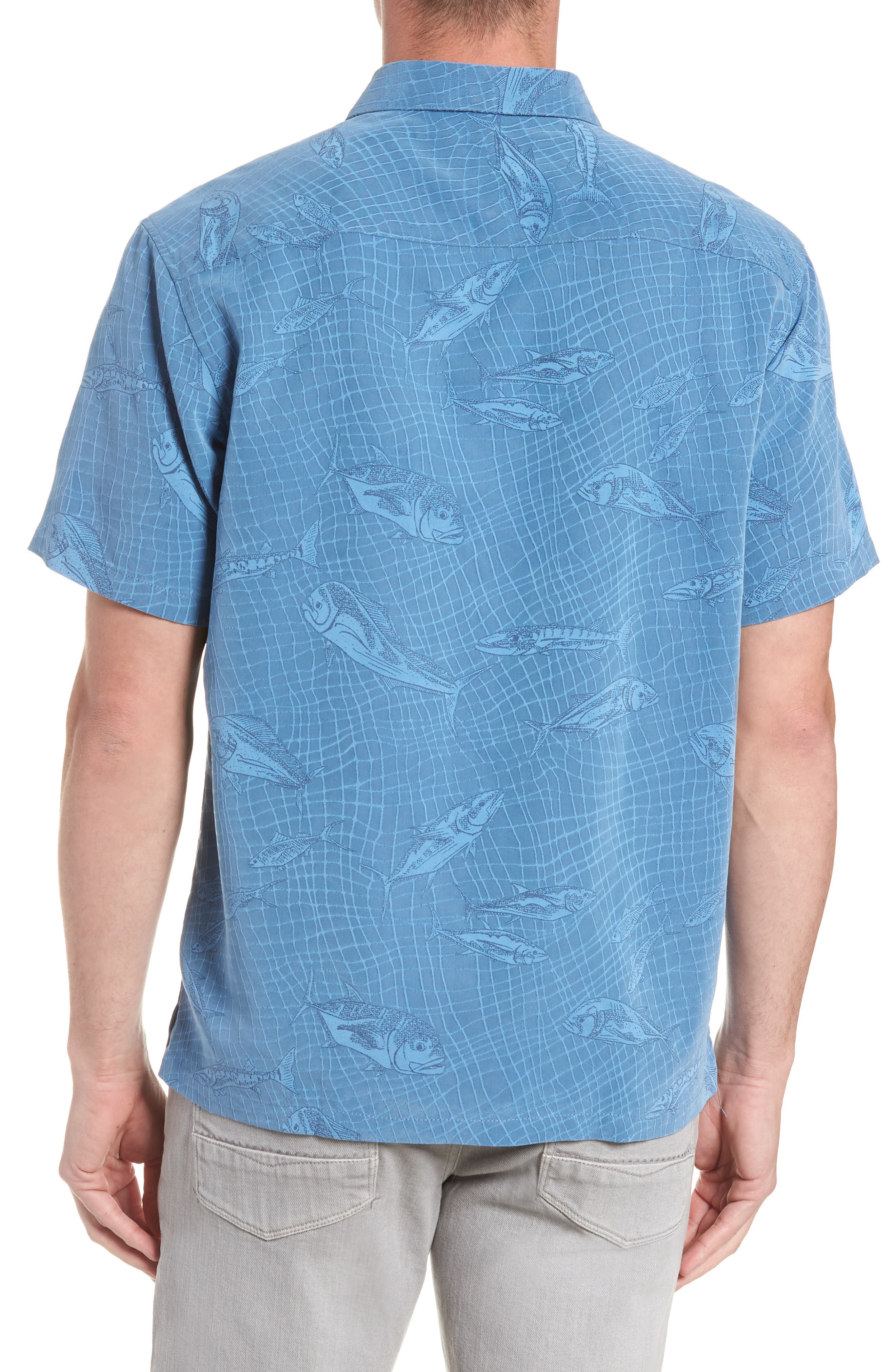Holo Holo Regular Fit Print Sport Shirt,                             Alternate thumbnail 3, color,                             469