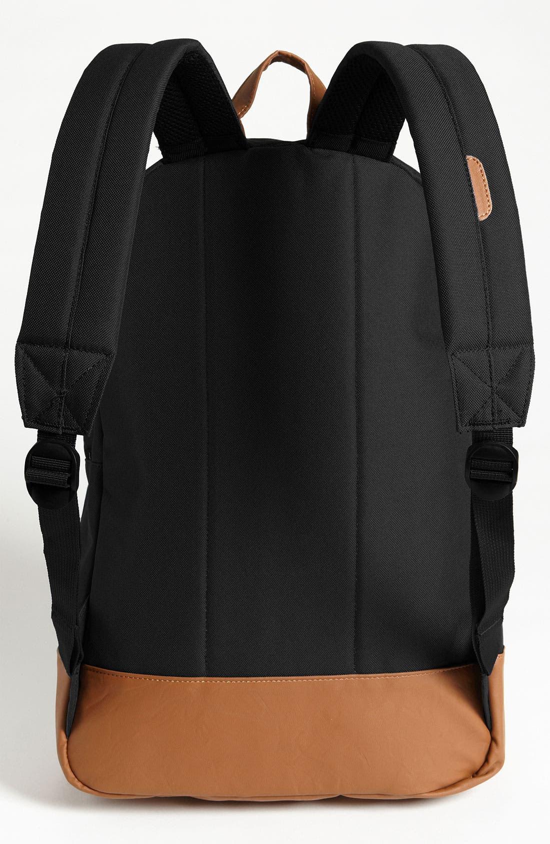 Heritage Backpack,                             Alternate thumbnail 4, color,                             BLACK