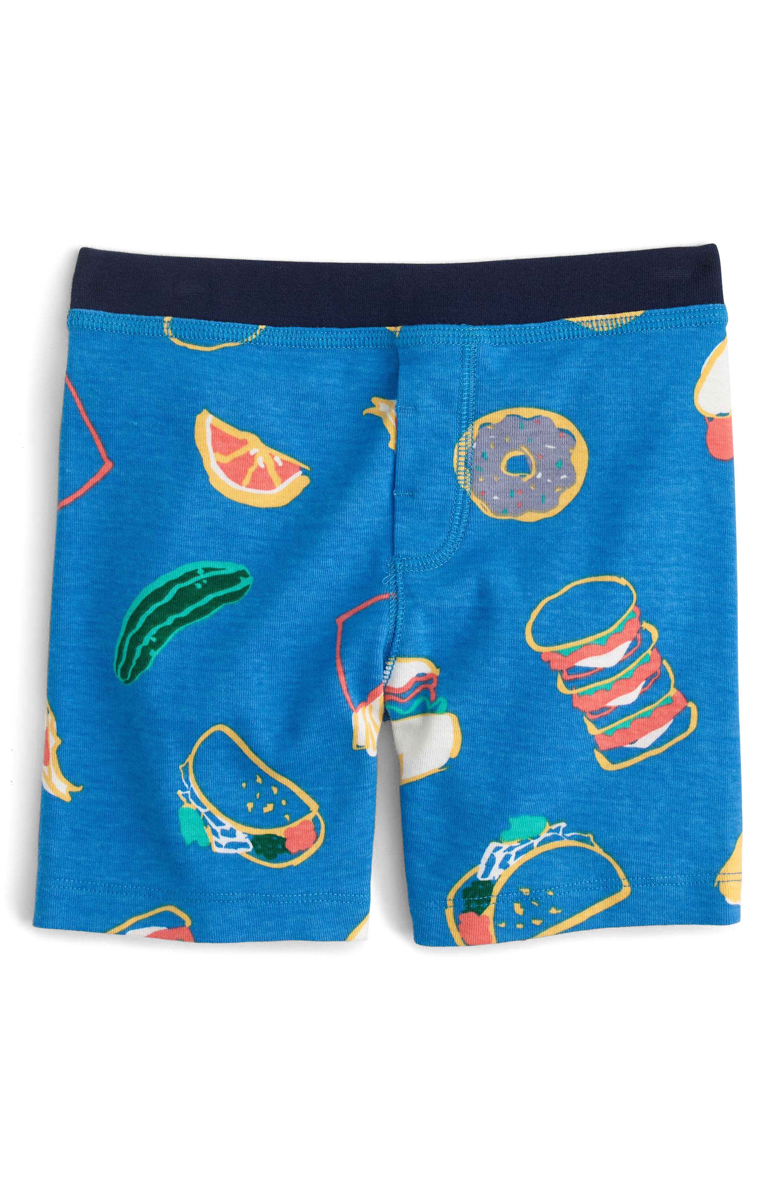 Pizza Party Fitted Two-Piece Pajamas,                             Alternate thumbnail 2, color,                             401