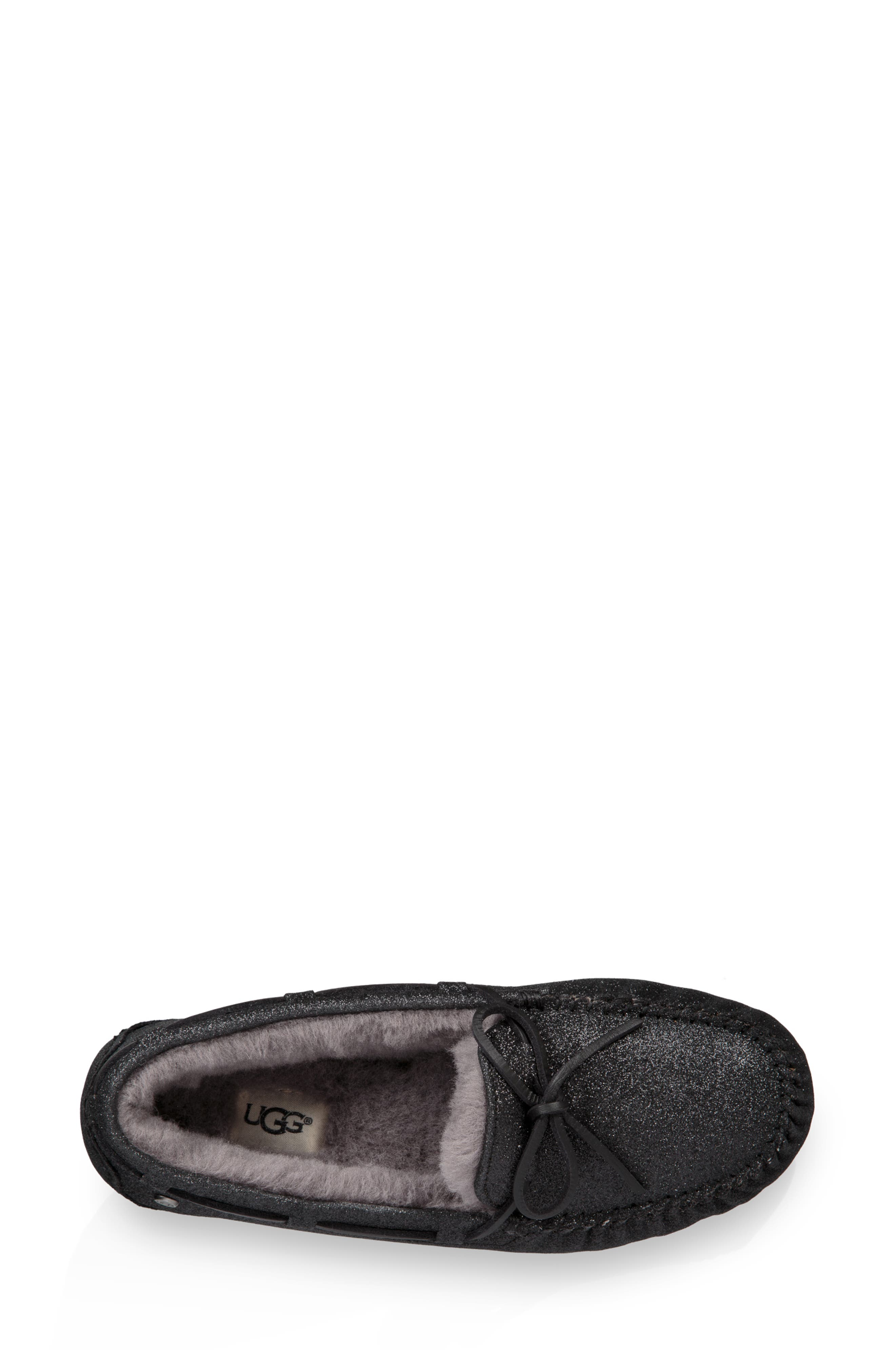 Dakota Sparkle Slipper,                             Alternate thumbnail 4, color,                             BLACK