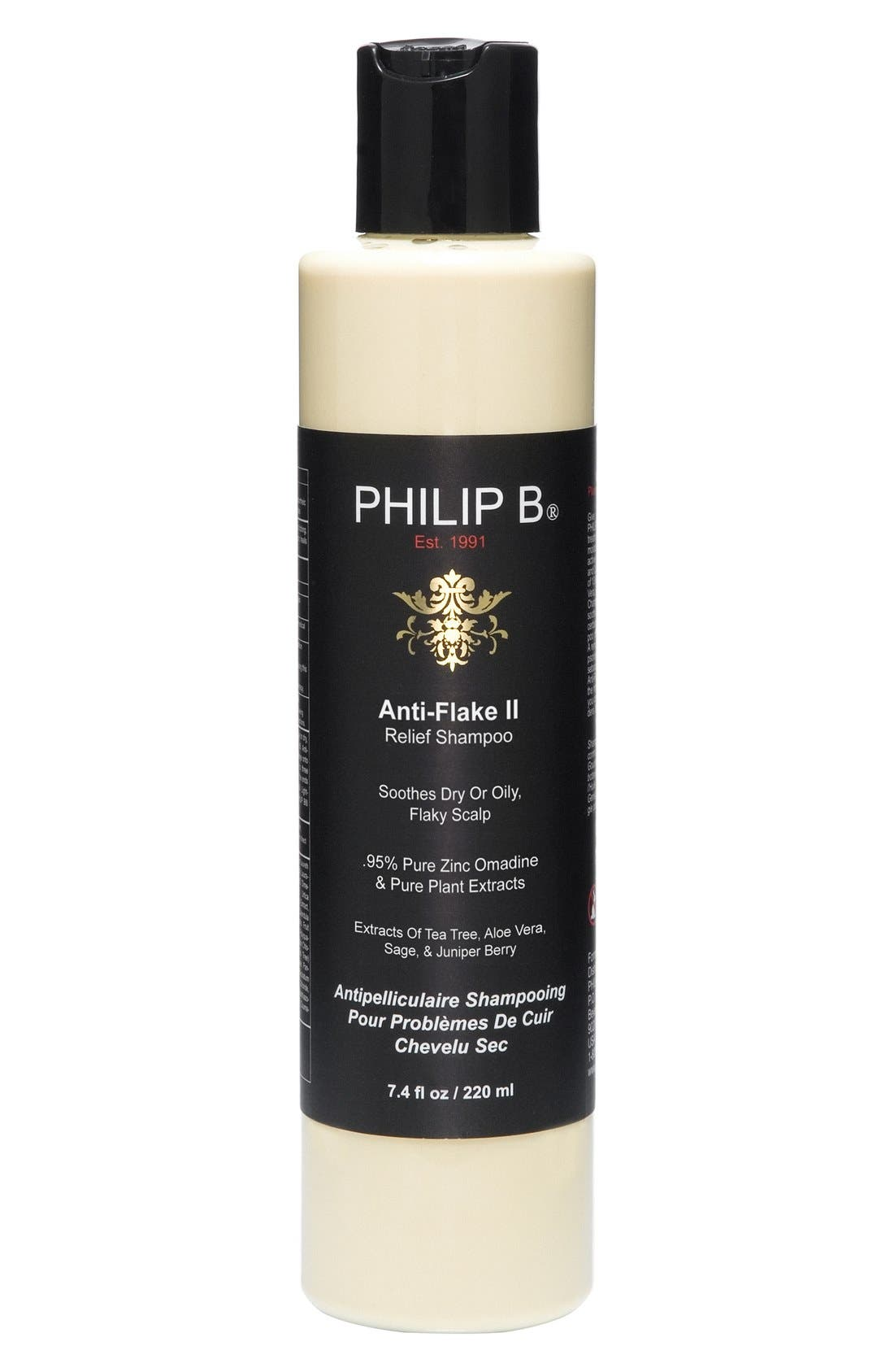 SPACE.NK.apothecary PHILLIP B<sup>®</sup> Anti-Flake Relief II Shampoo,                             Main thumbnail 1, color,                             NO COLOR