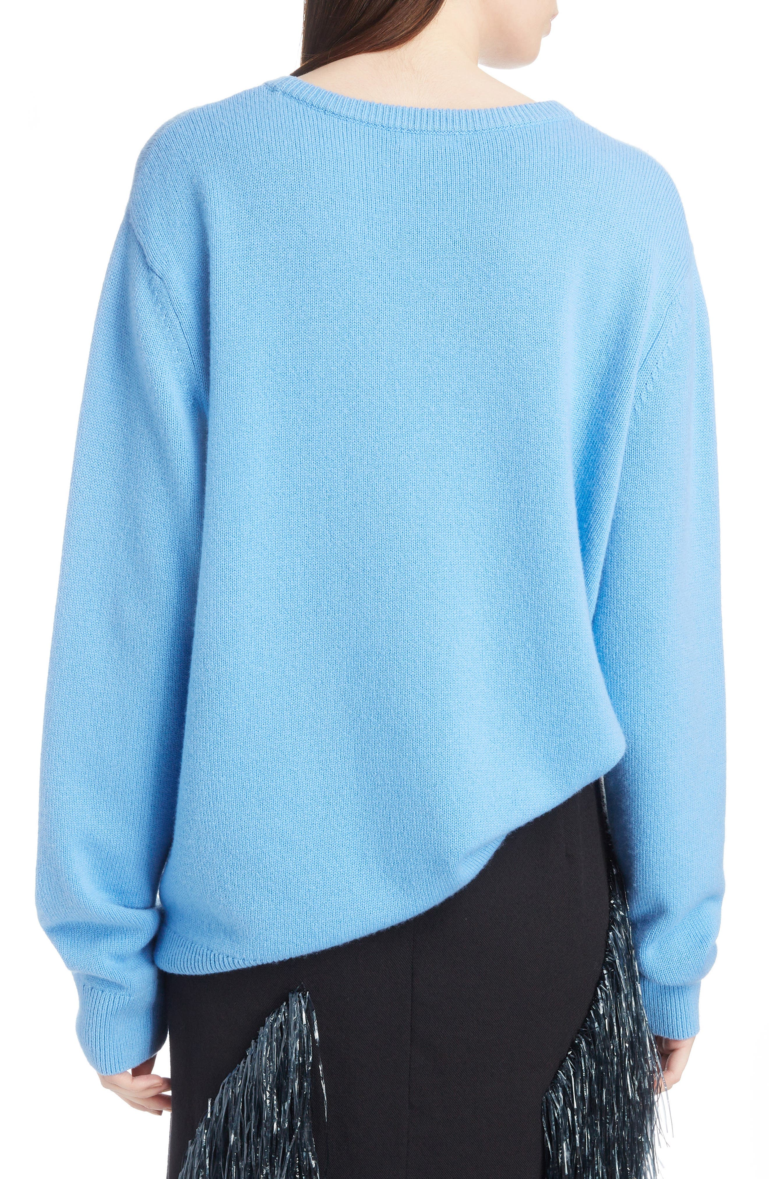 Relaxed Cashmere Sweater,                             Alternate thumbnail 2, color,                             400