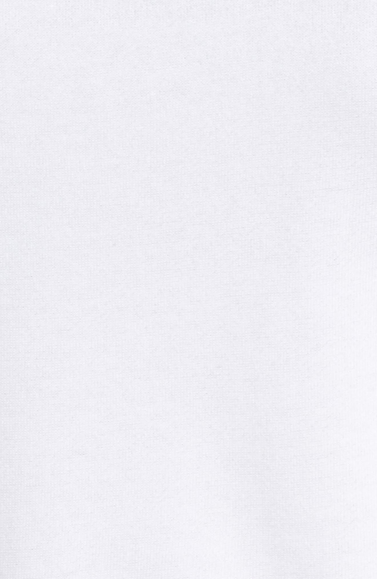 New York Soho Raglan Pullover,                             Alternate thumbnail 5, color,                             WHITE