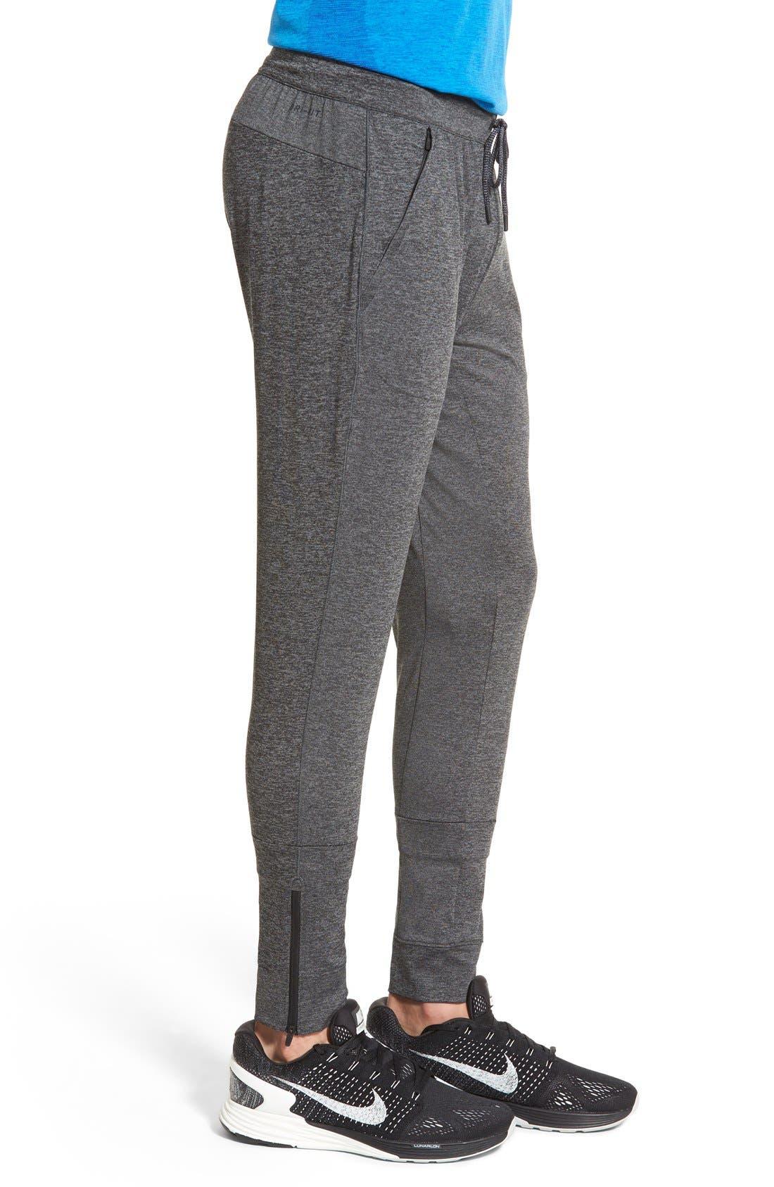 NIKE,                             'Ultimate Dry Knit' Dri-FIT Training Pants,                             Alternate thumbnail 5, color,                             010