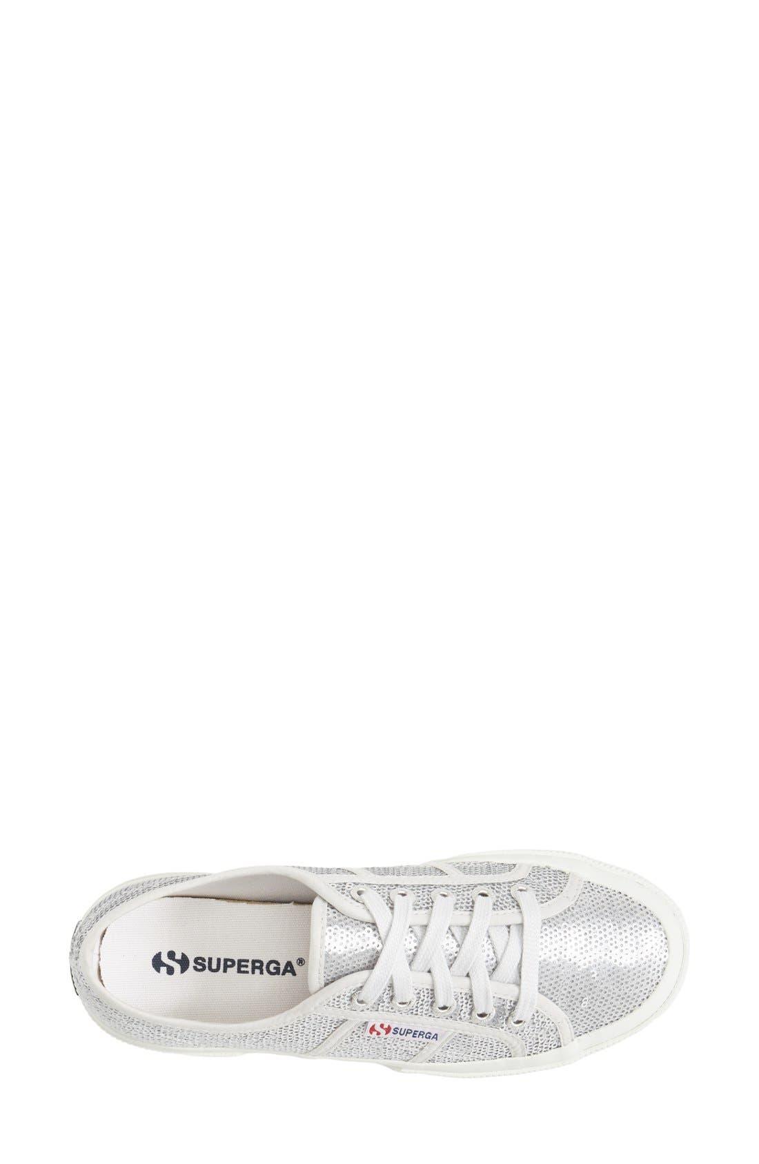 'Metallic' Sneaker,                             Alternate thumbnail 3, color,                             040