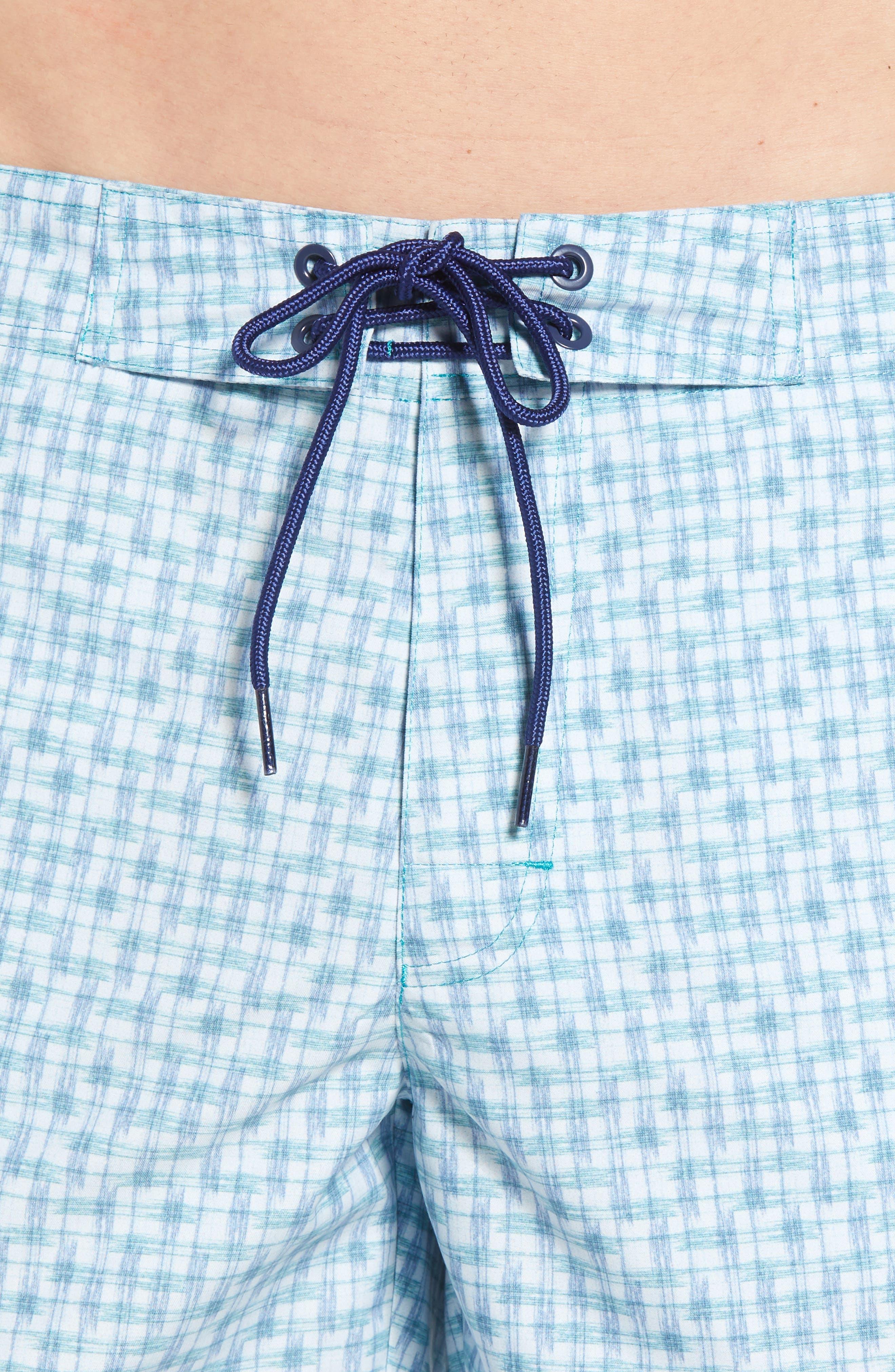 Ashby Swim Trunks,                             Alternate thumbnail 4, color,                             LIGHT BLUE