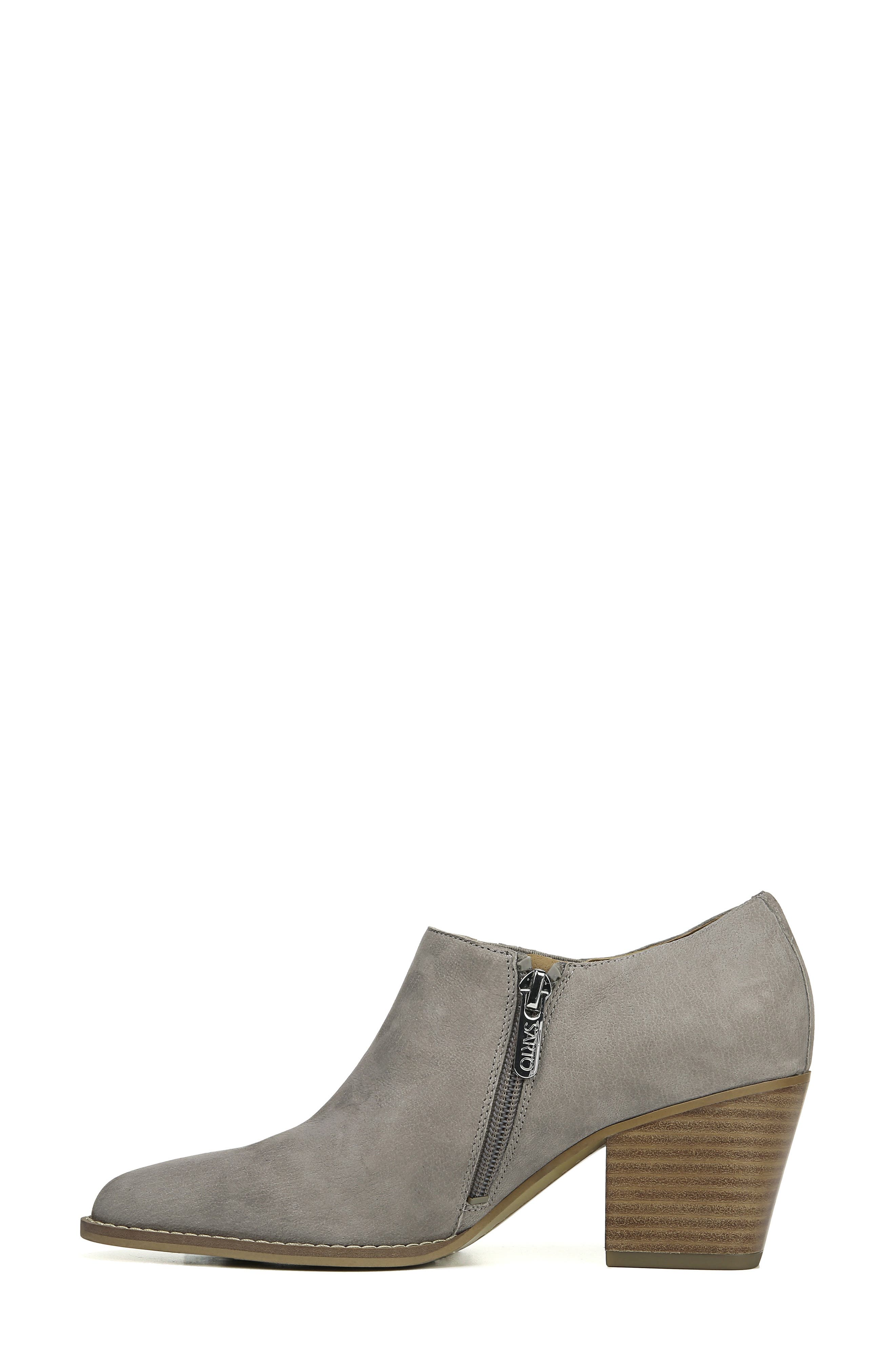Camella Bootie,                             Alternate thumbnail 9, color,                             GREYSTONE NUBUCK LEATHER