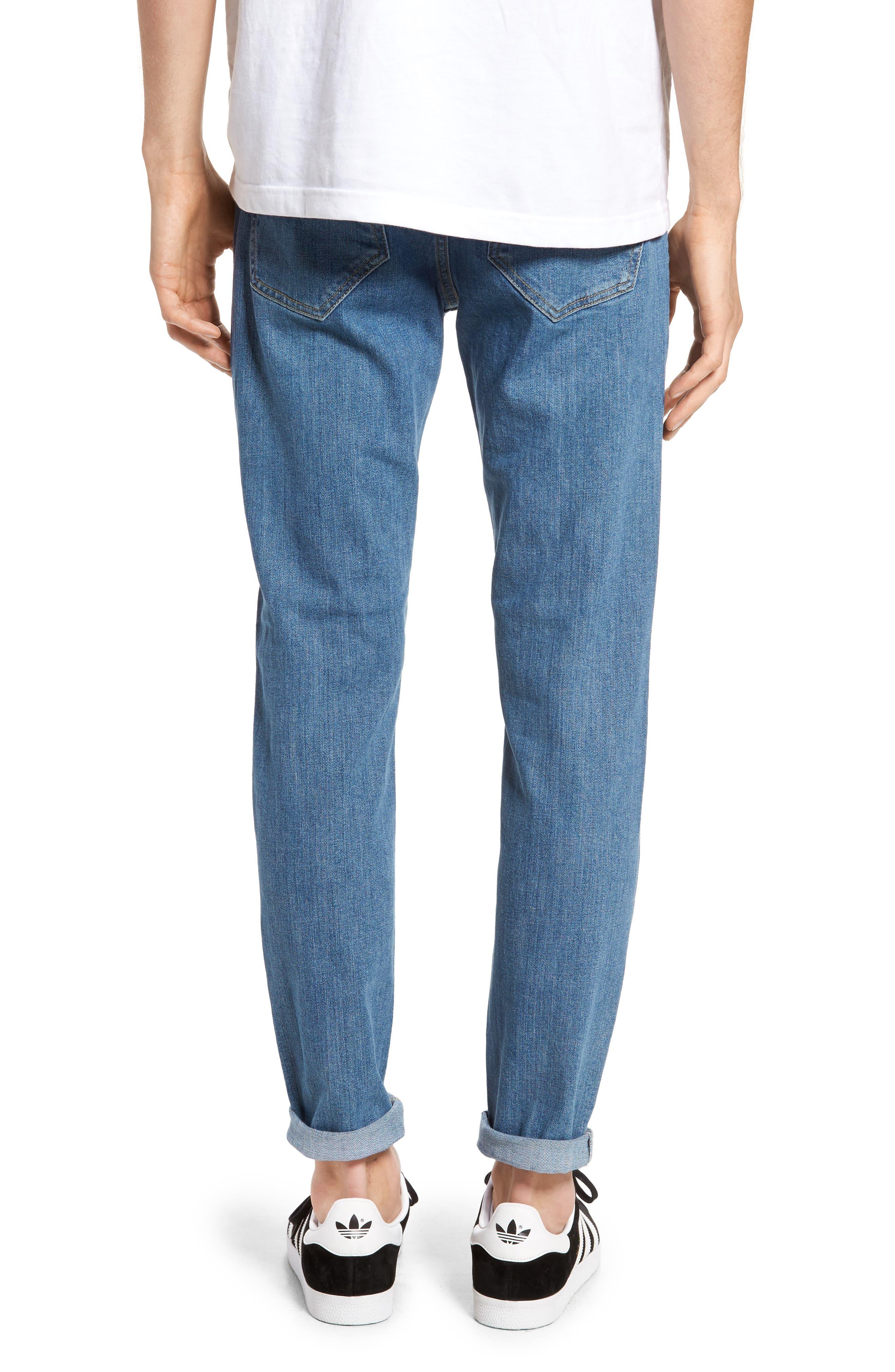 Clark Slim Straight Fit Jeans,                             Alternate thumbnail 2, color,