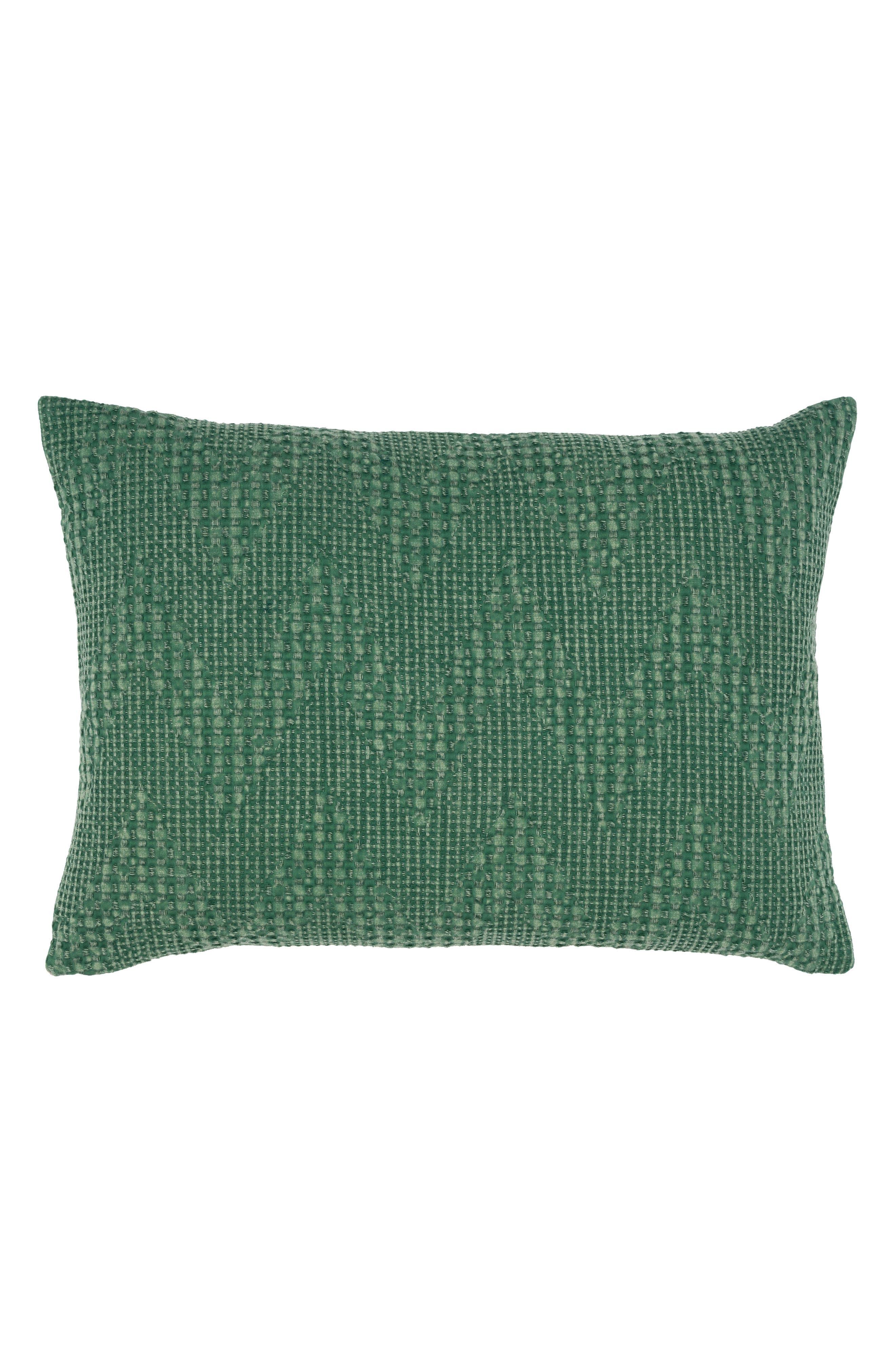 Fabiana Accent Pillow,                             Main thumbnail 1, color,                             GREEN