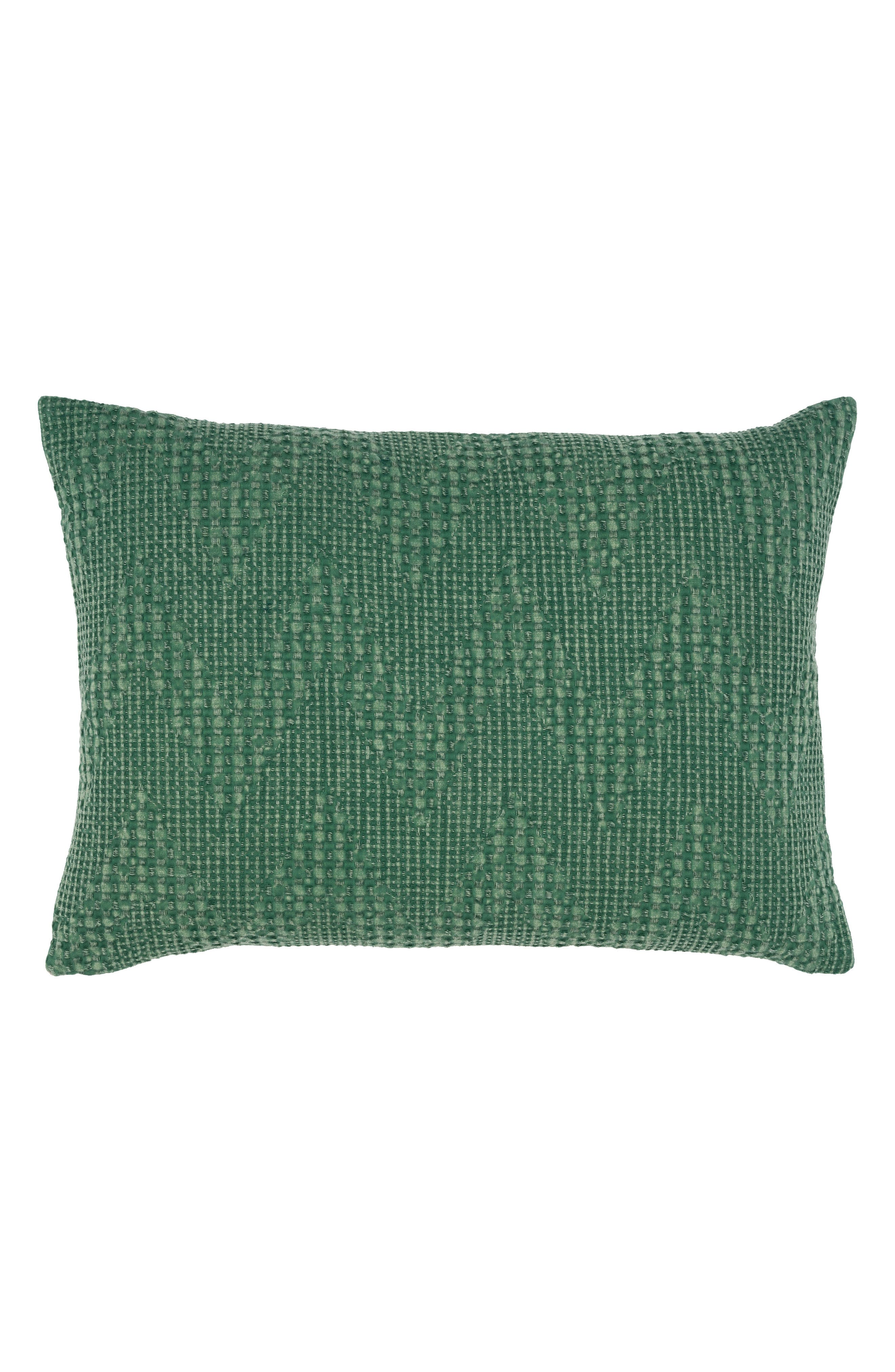 Fabiana Accent Pillow,                         Main,                         color, GREEN