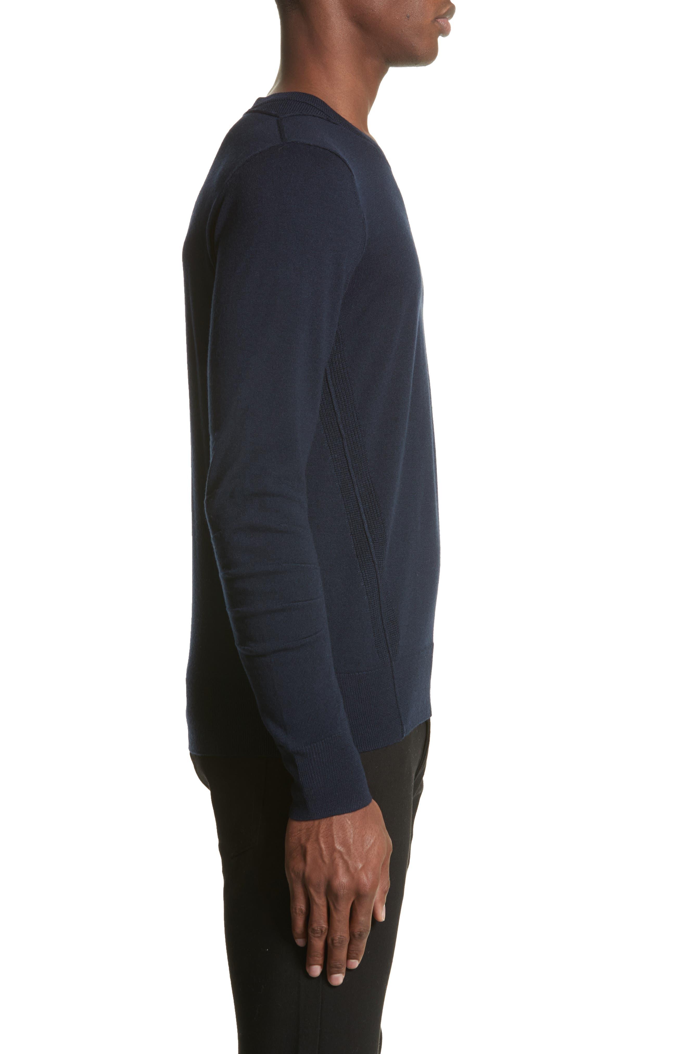 Carter Merino Wool Crewneck Sweater,                             Alternate thumbnail 9, color,