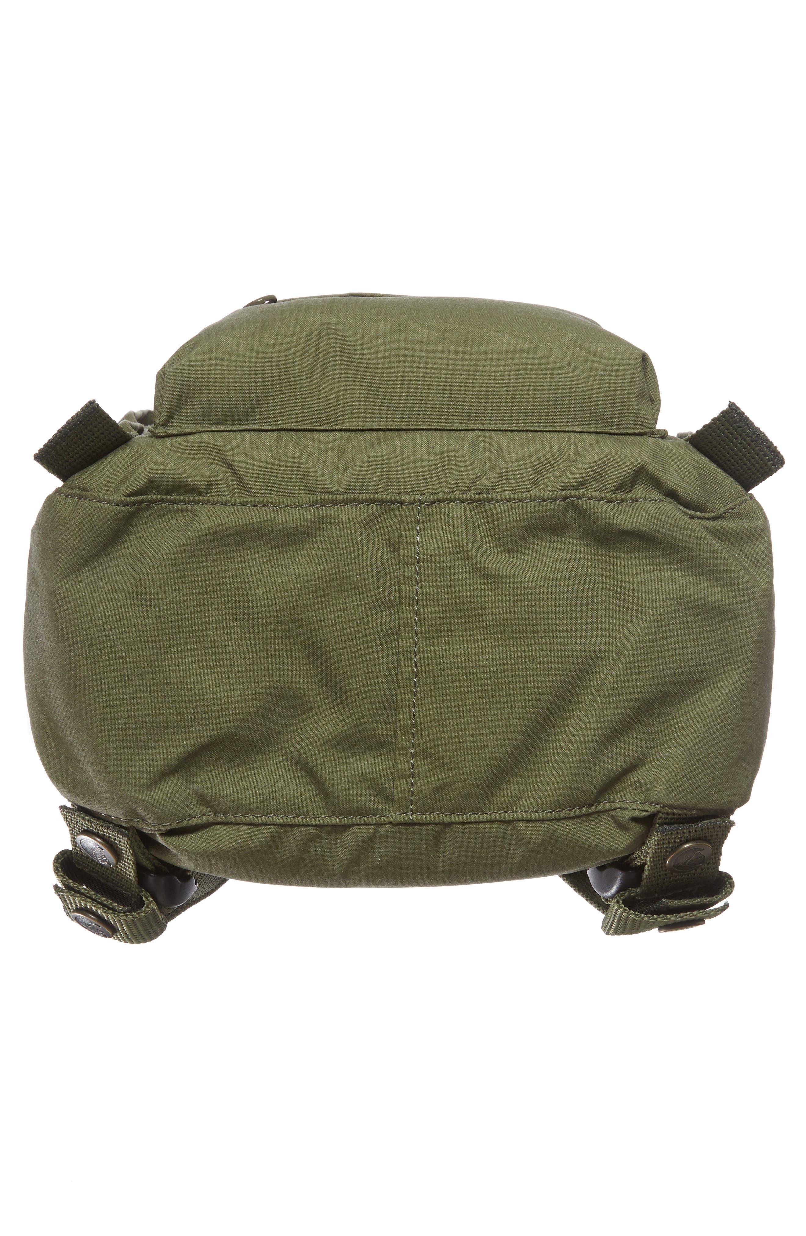 'Mini Kånken' Water Resistant Backpack,                             Alternate thumbnail 6, color,                             GREEN