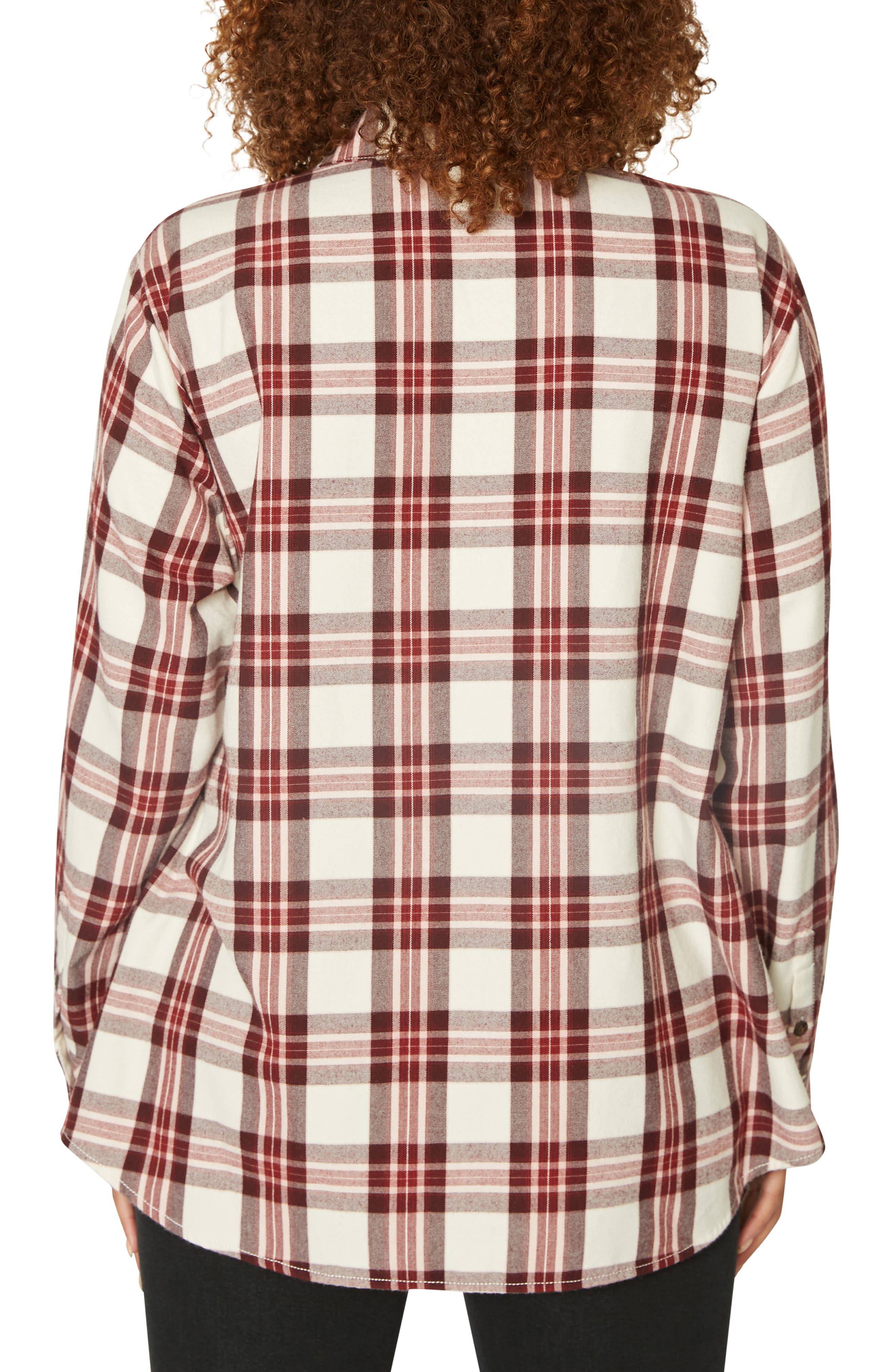 Boyfriend for Life Flannel Shirt,                             Alternate thumbnail 2, color,                             RENEGADE P