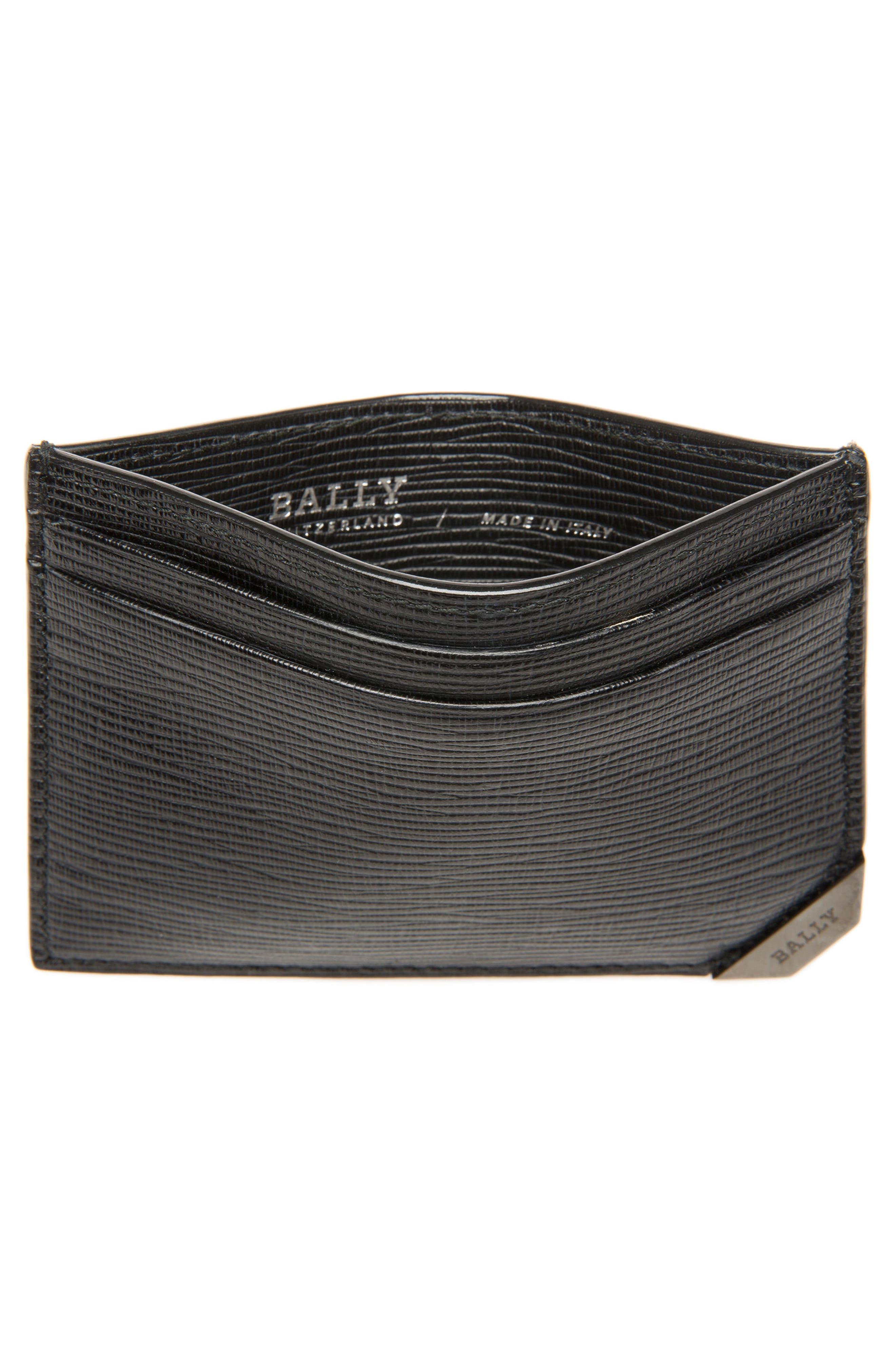 Bhar Leather Card Holder,                             Alternate thumbnail 2, color,