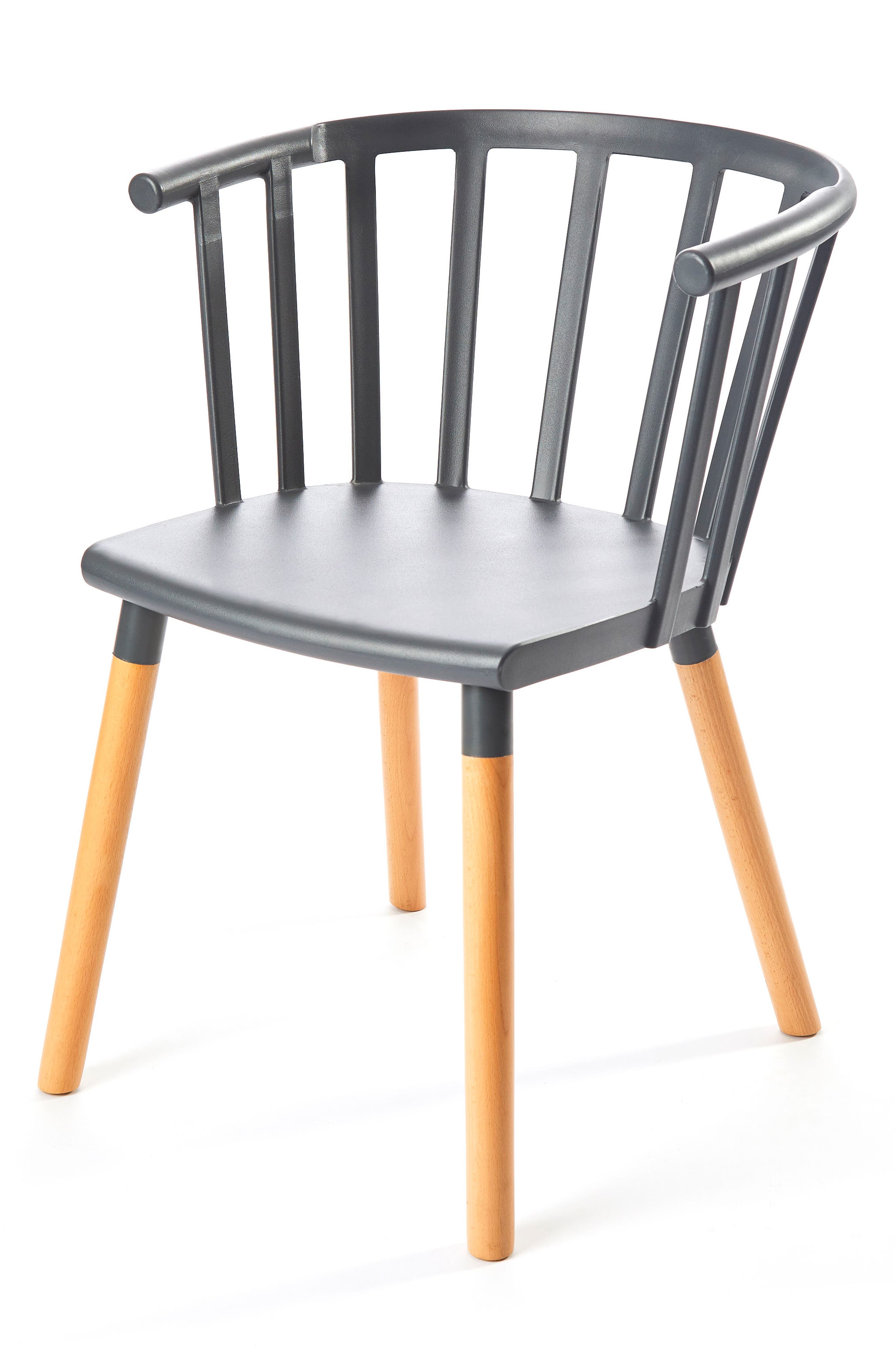 Kaptain Chair,                             Alternate thumbnail 3, color,                             MODEST GREY