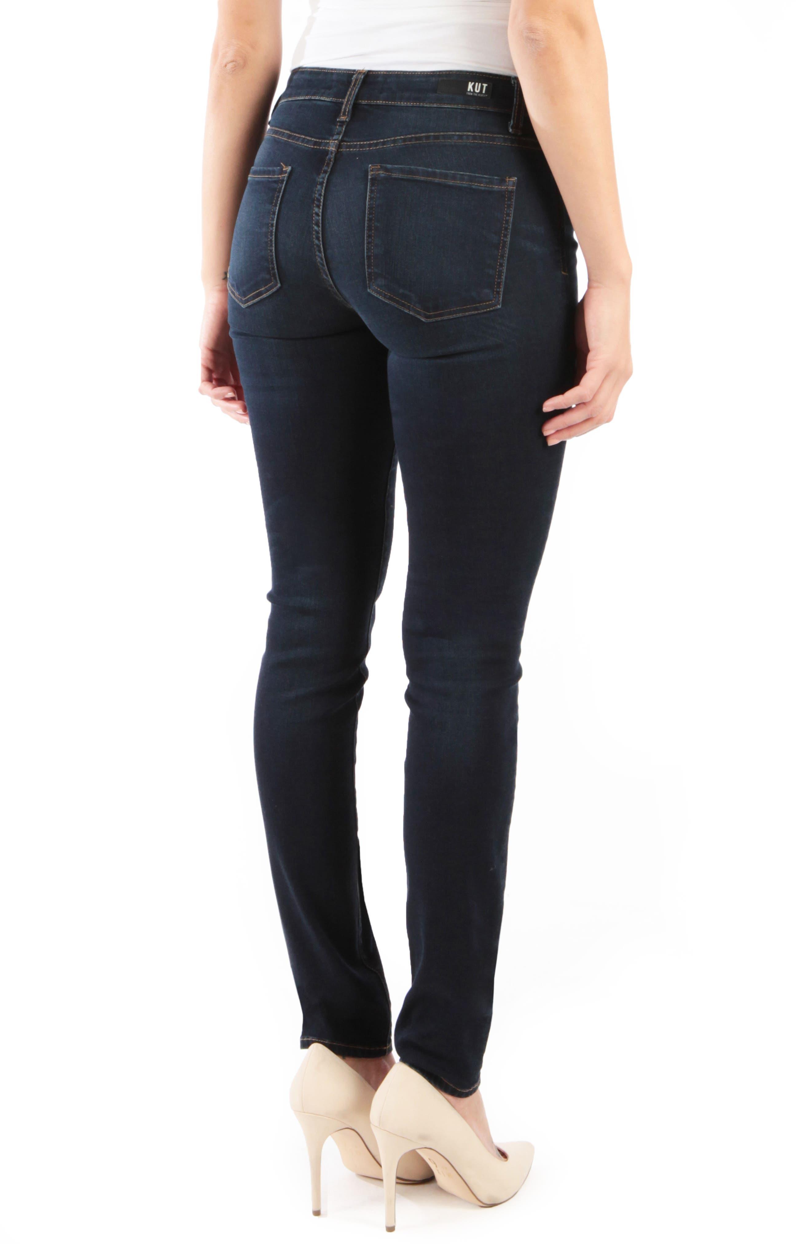 Diana Skinny Jeans,                             Alternate thumbnail 2, color,                             OBSERVANT