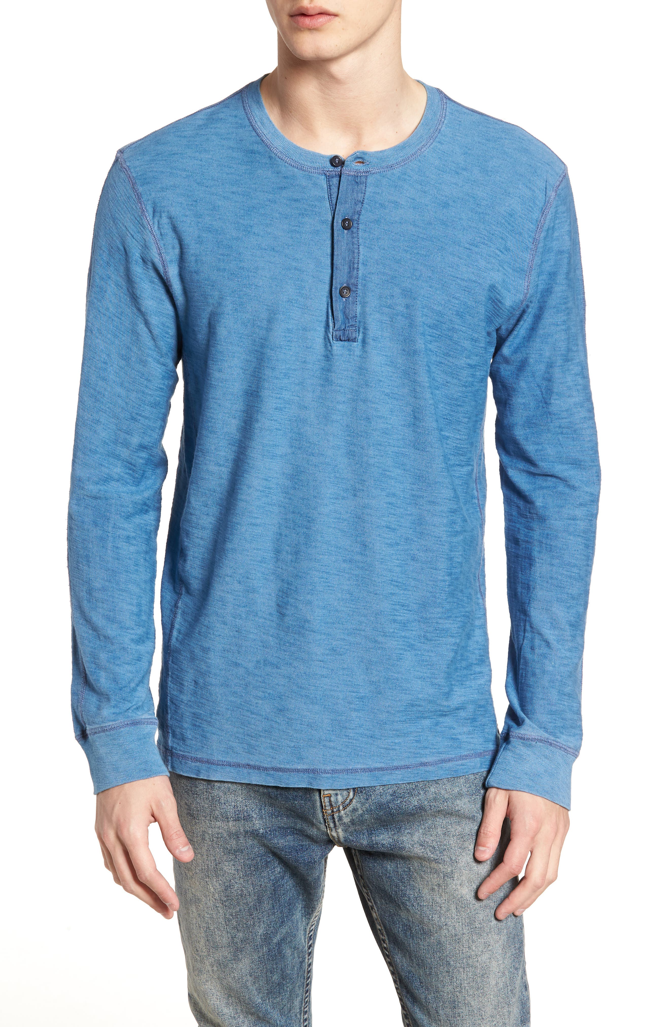LEVI'S<SUP>®</SUP> MADE & CRAFTED<SUP>™</SUP>,                             Henley,                             Main thumbnail 1, color,                             420
