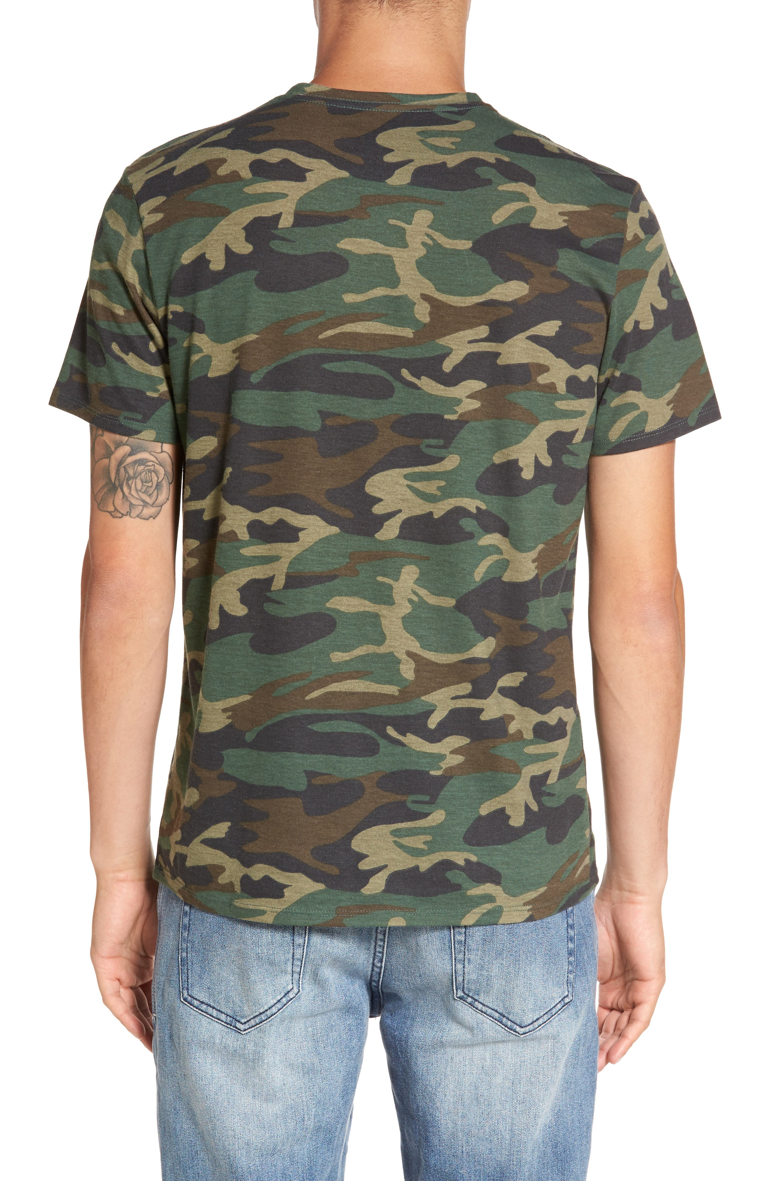 V-Neck T-Shirt,                             Alternate thumbnail 10, color,