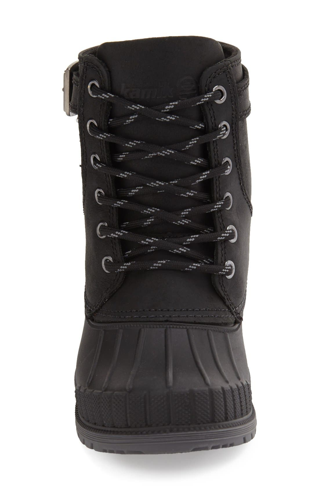 Evelyn Waterproof Boot,                             Alternate thumbnail 3, color,                             010
