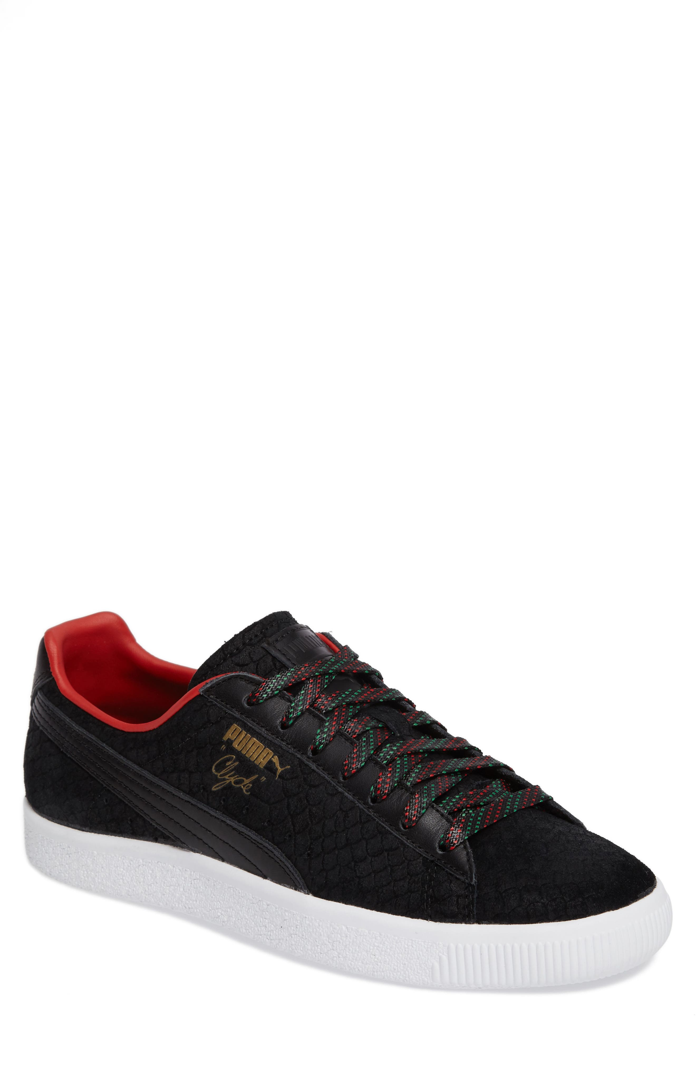 Clyde GCC Sneaker,                             Main thumbnail 1, color,                             001