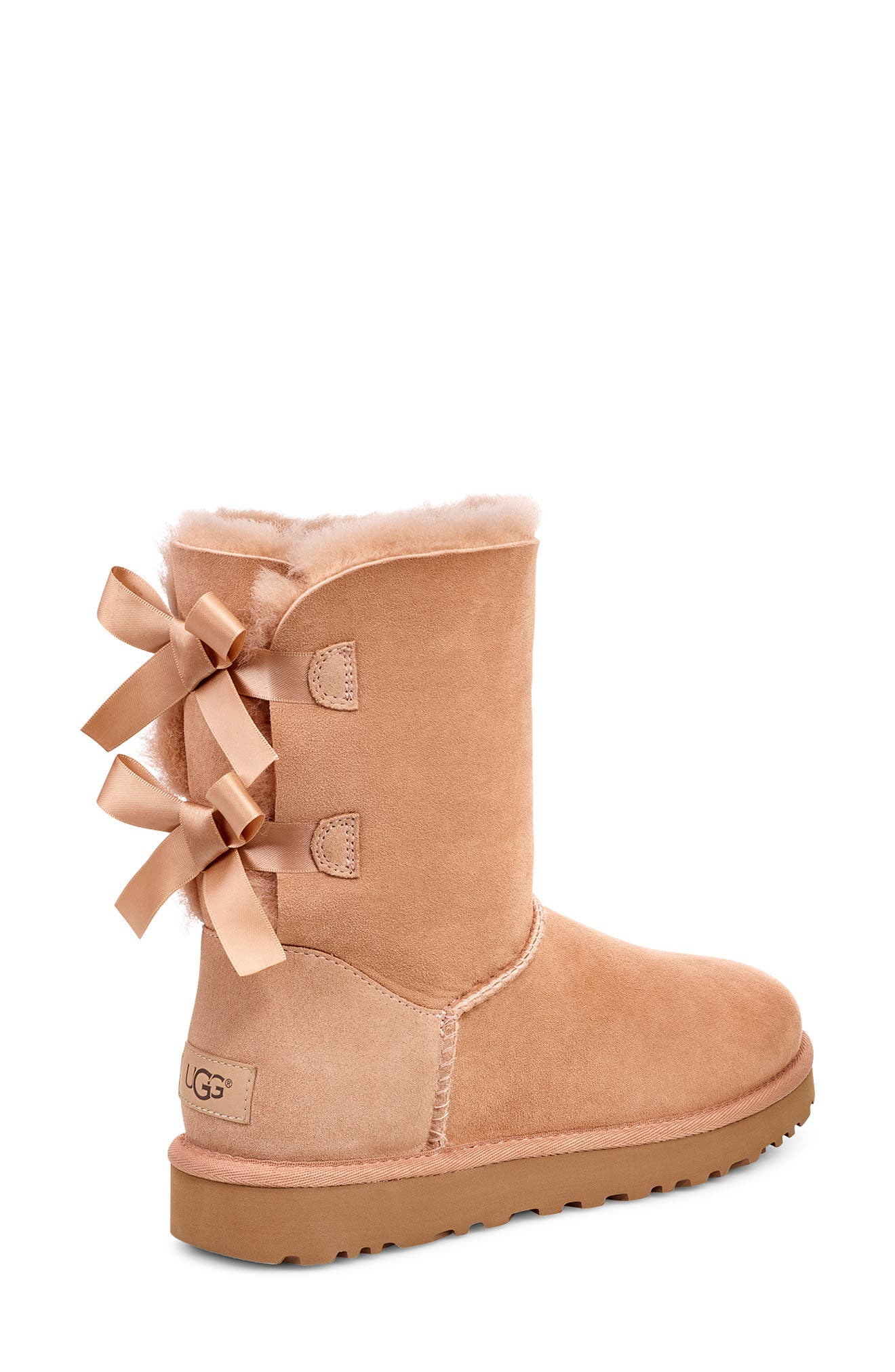 'Bailey Bow II' Boot,                             Alternate thumbnail 2, color,                             ARROYO SUEDE