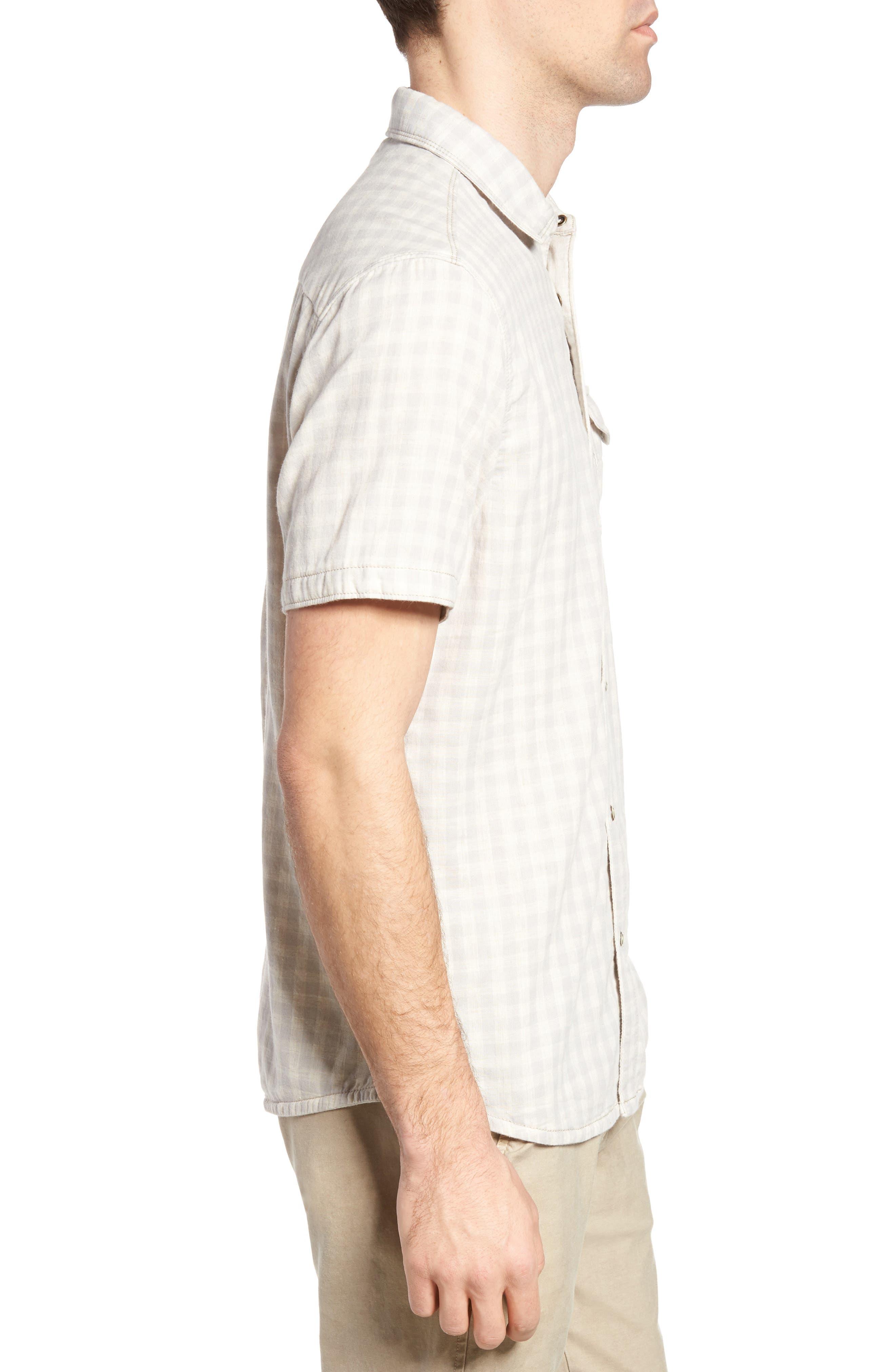 Graham Reversible Plaid Sport Shirt,                             Alternate thumbnail 4, color,                             271