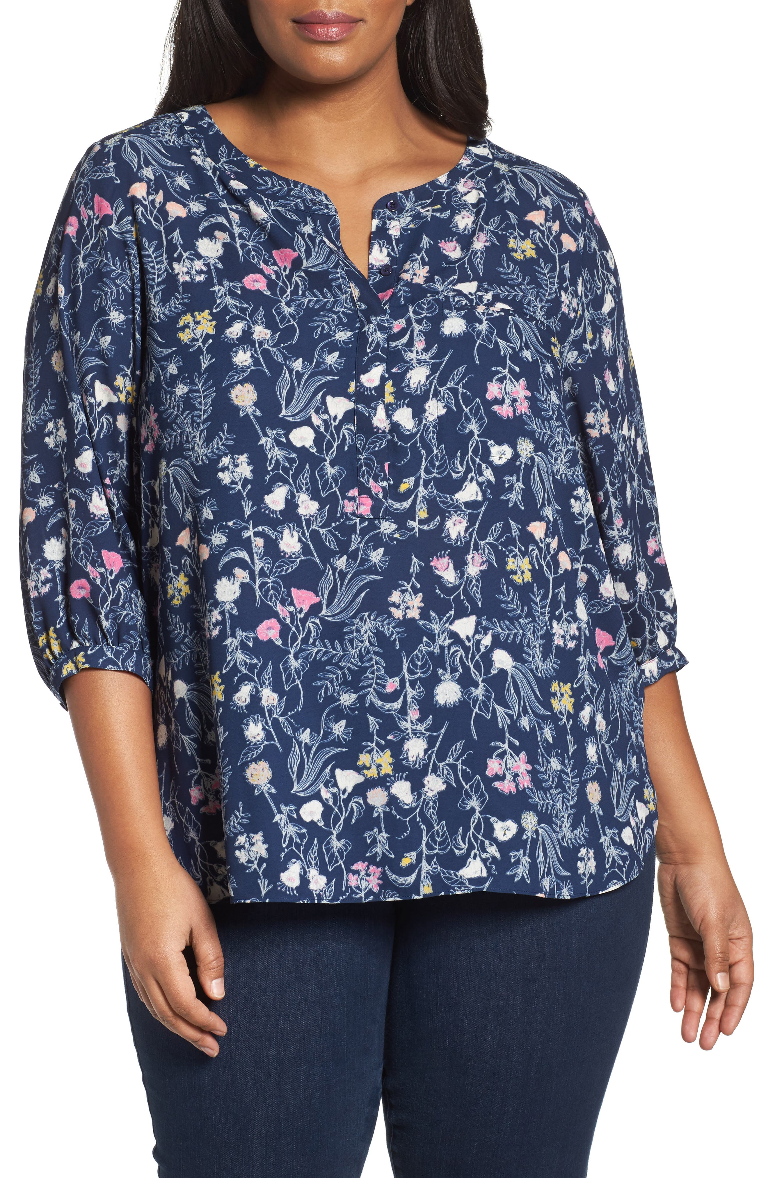 Henley Top,                             Alternate thumbnail 138, color,