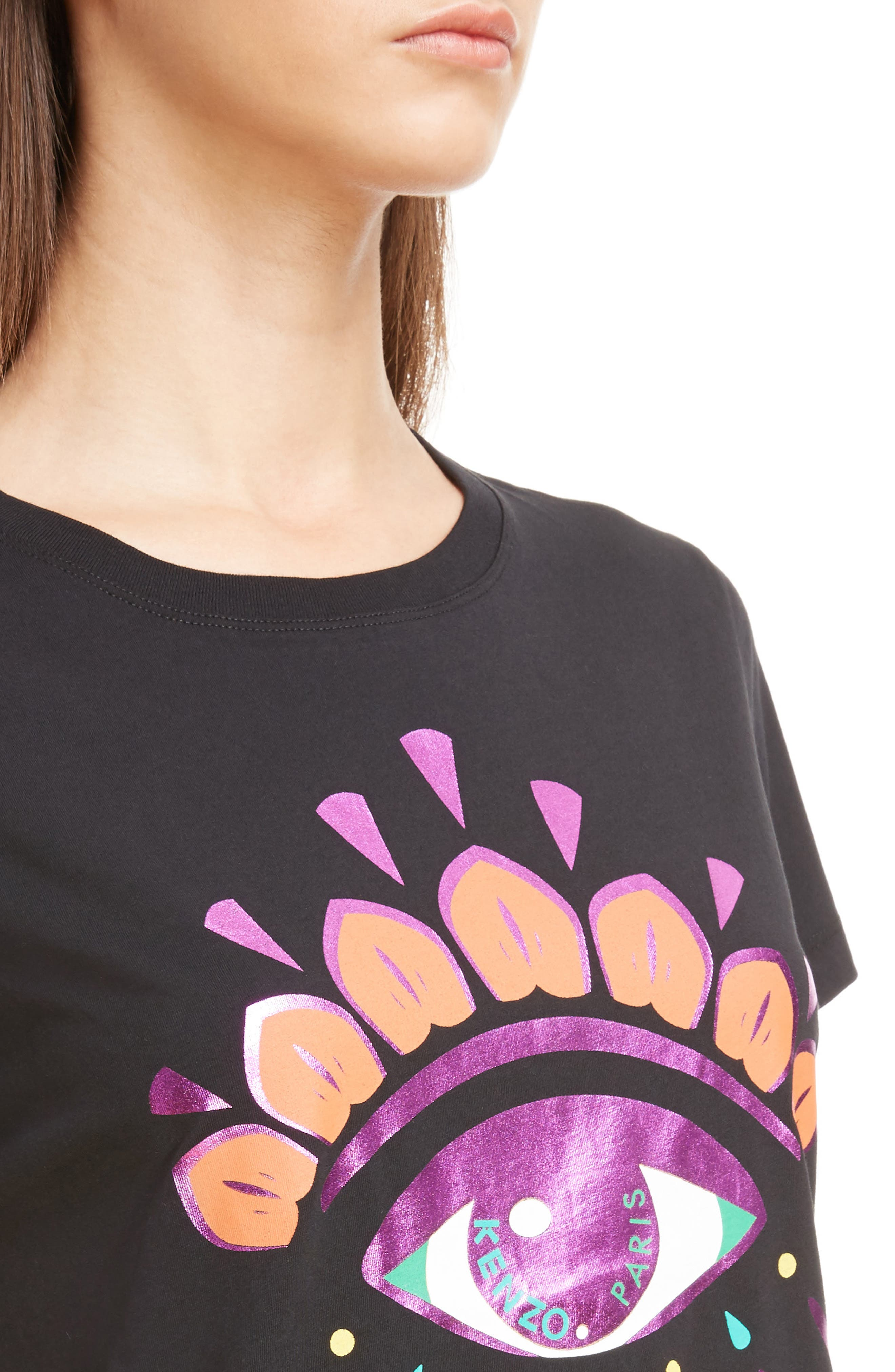 Classic Fit Graphic Tee,                             Alternate thumbnail 4, color,
