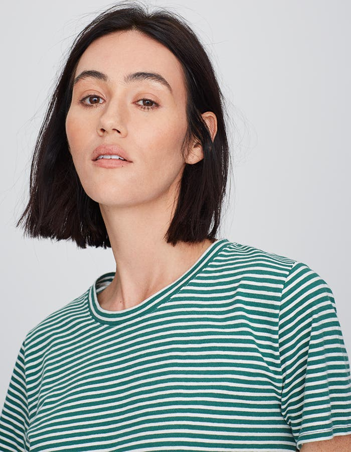 Pop-In@Nordstrom Welcomes Everlane: Women's striped cotton box-cut tee, $20.