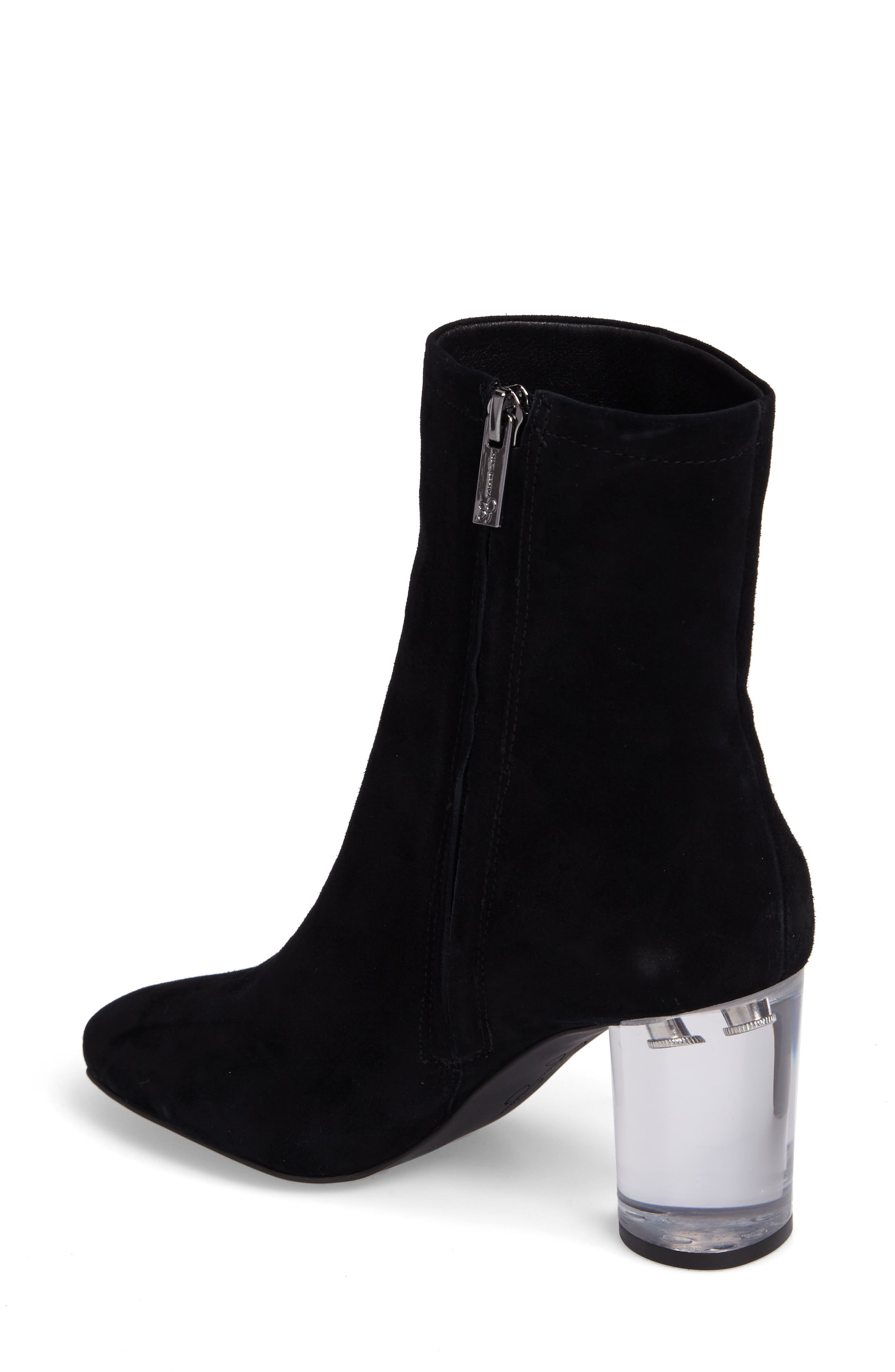 Merta Column Heel Bootie,                             Alternate thumbnail 2, color,                             001