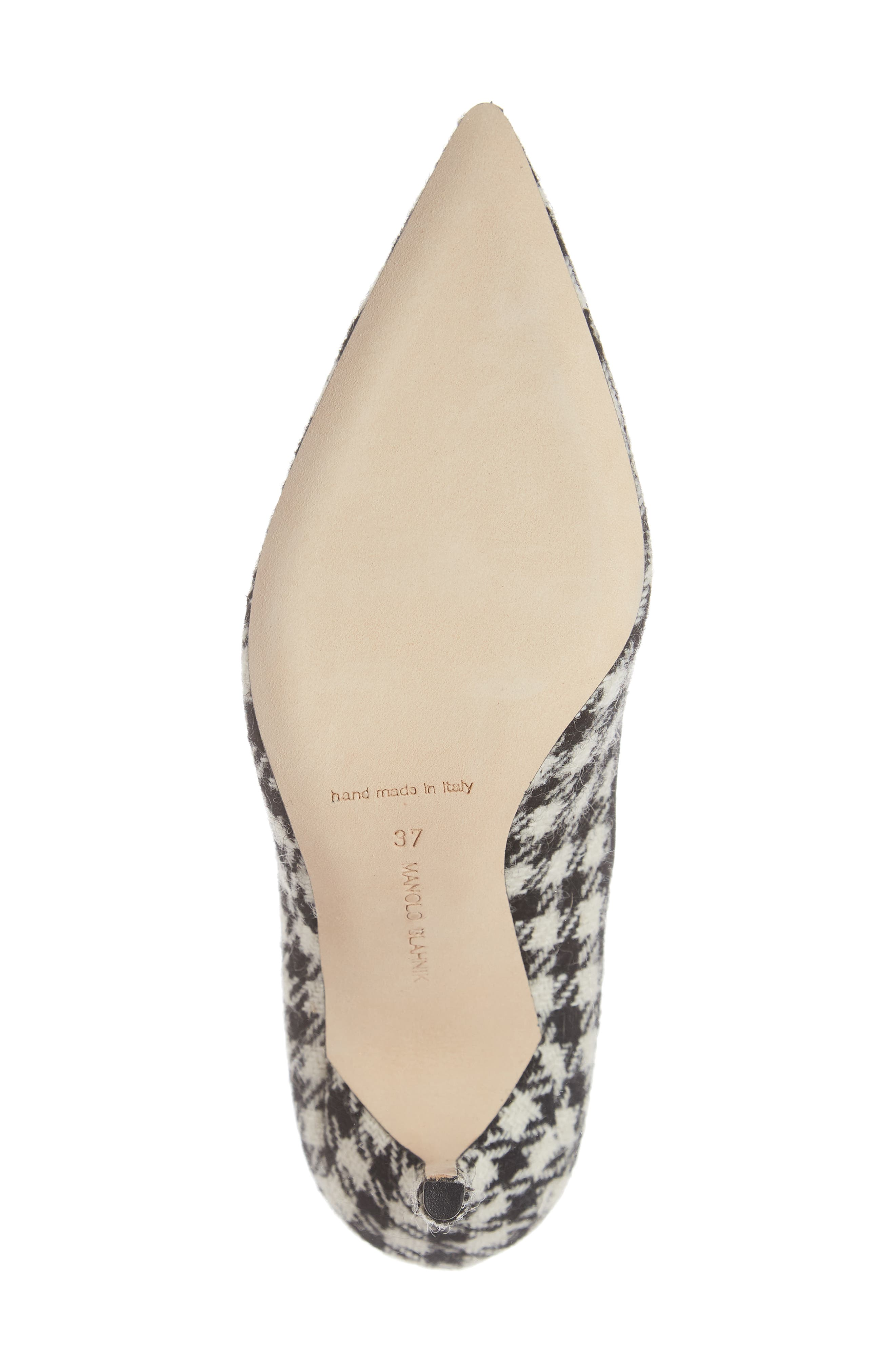 BB Pointy Toe Pump,                             Alternate thumbnail 6, color,                             HOUNDSTOOTH