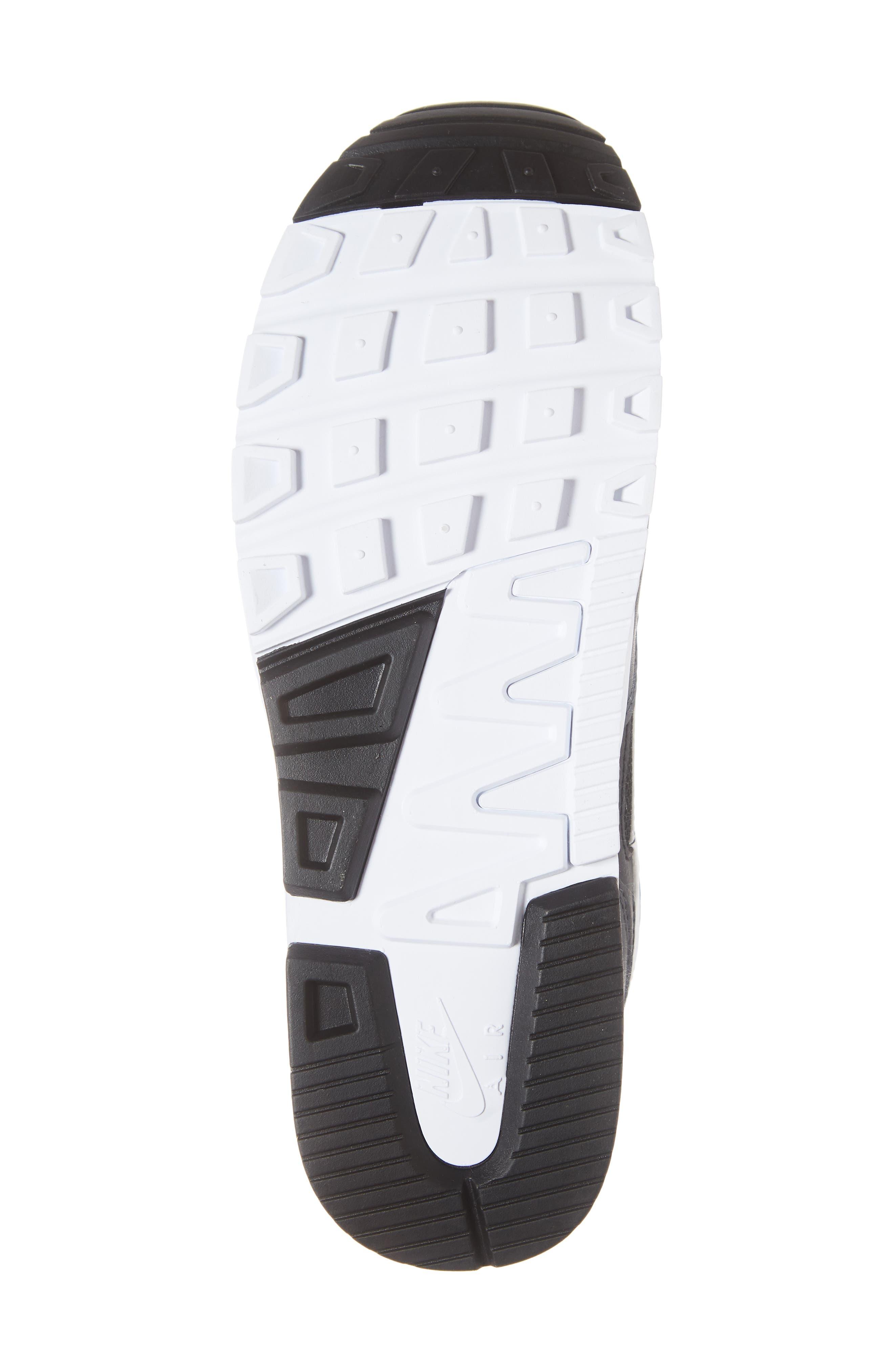 Air Span II Sneaker,                             Alternate thumbnail 6, color,                             BLACK/ WHITE/ ANTHRACITE