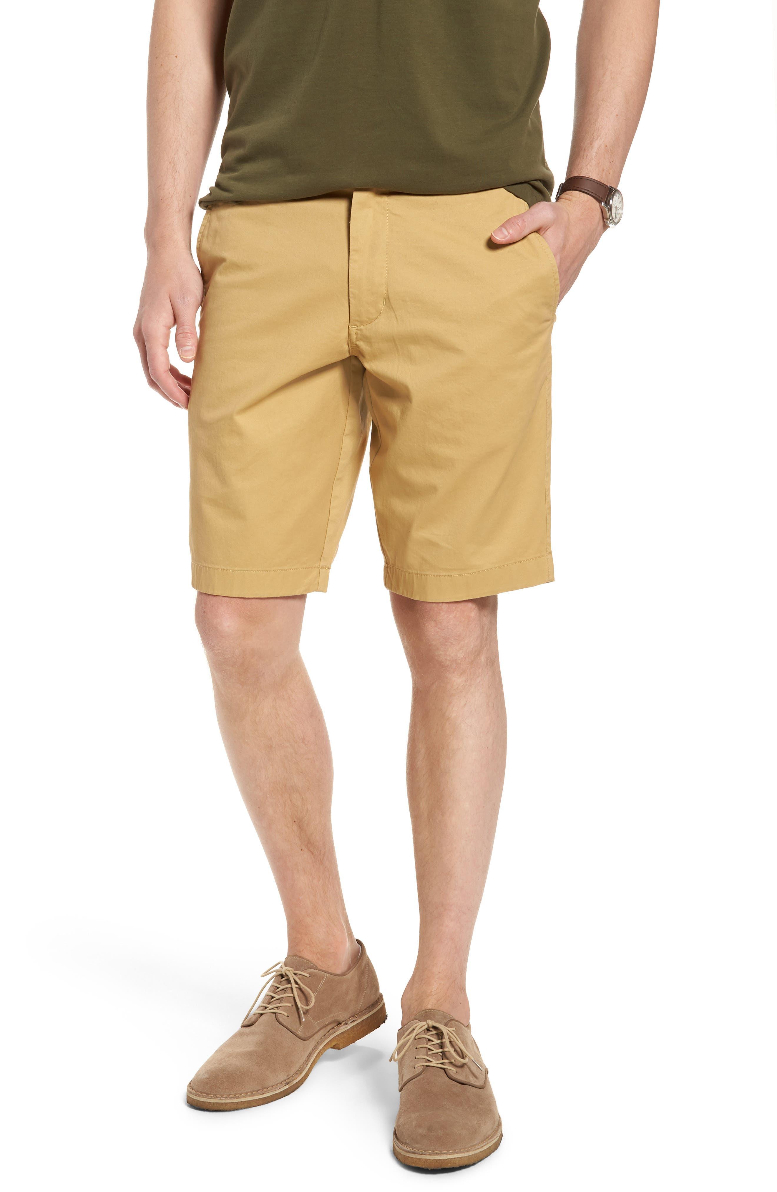 Ballard Slim Fit Stretch Chino 11-Inch Shorts,                             Main thumbnail 5, color,