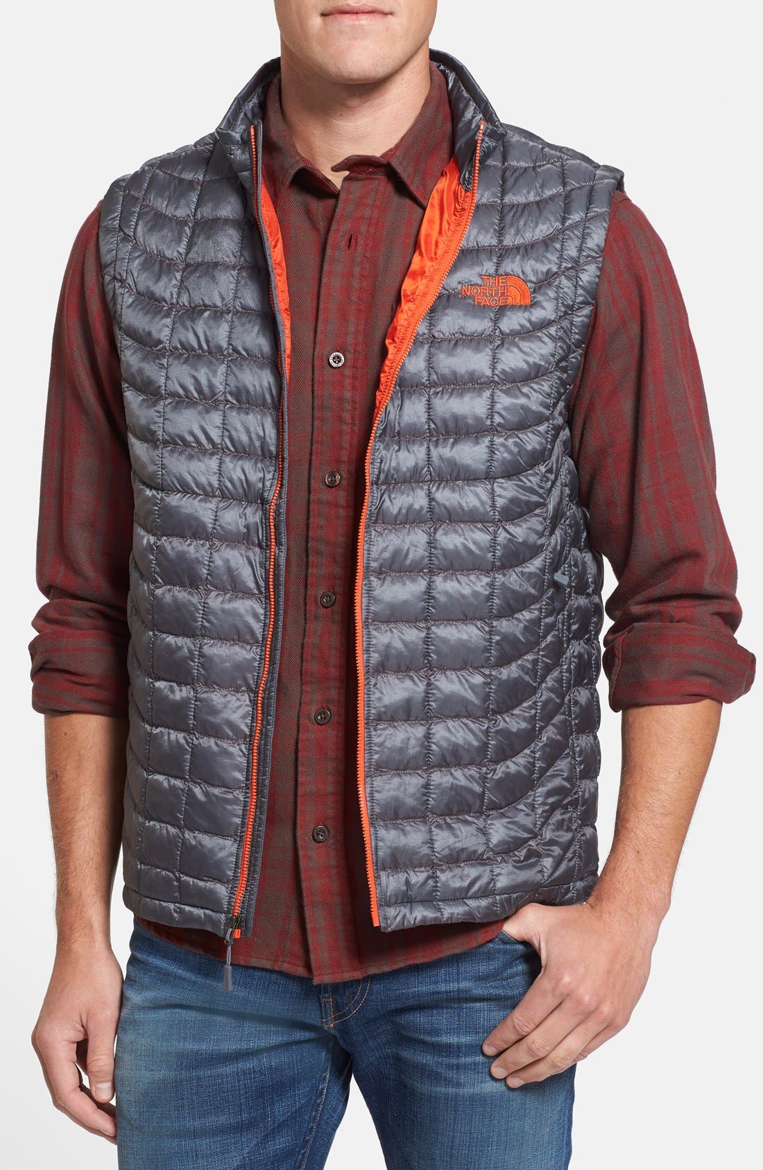 'ThermoBall<sup>™</sup>' Packable PrimaLoft<sup>®</sup> Vest,                             Main thumbnail 10, color,