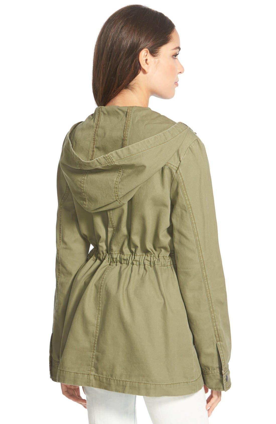 Hooded Field Jacket,                             Alternate thumbnail 3, color,                             311