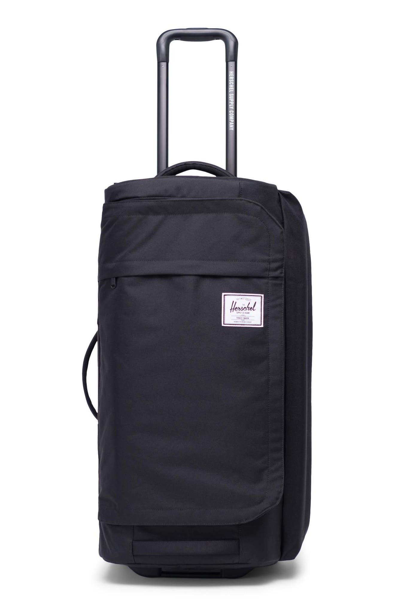 Wheelie Outfitter 24-Inch Duffel Bag,                             Main thumbnail 1, color,                             BLACK