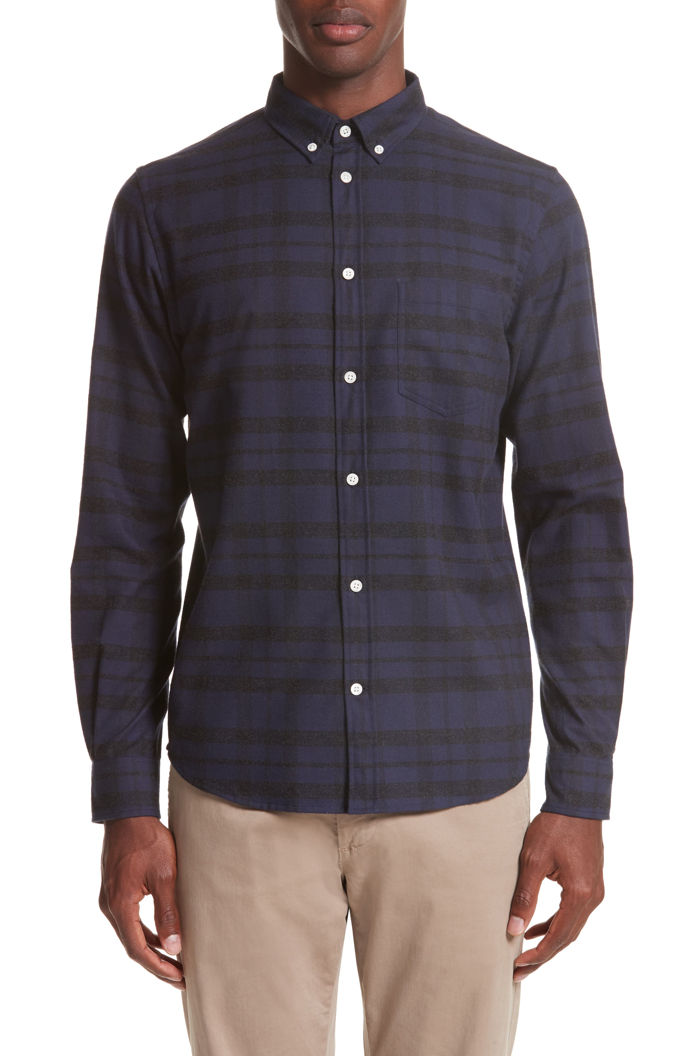 Anton Check Shirt,                         Main,                         color, 010