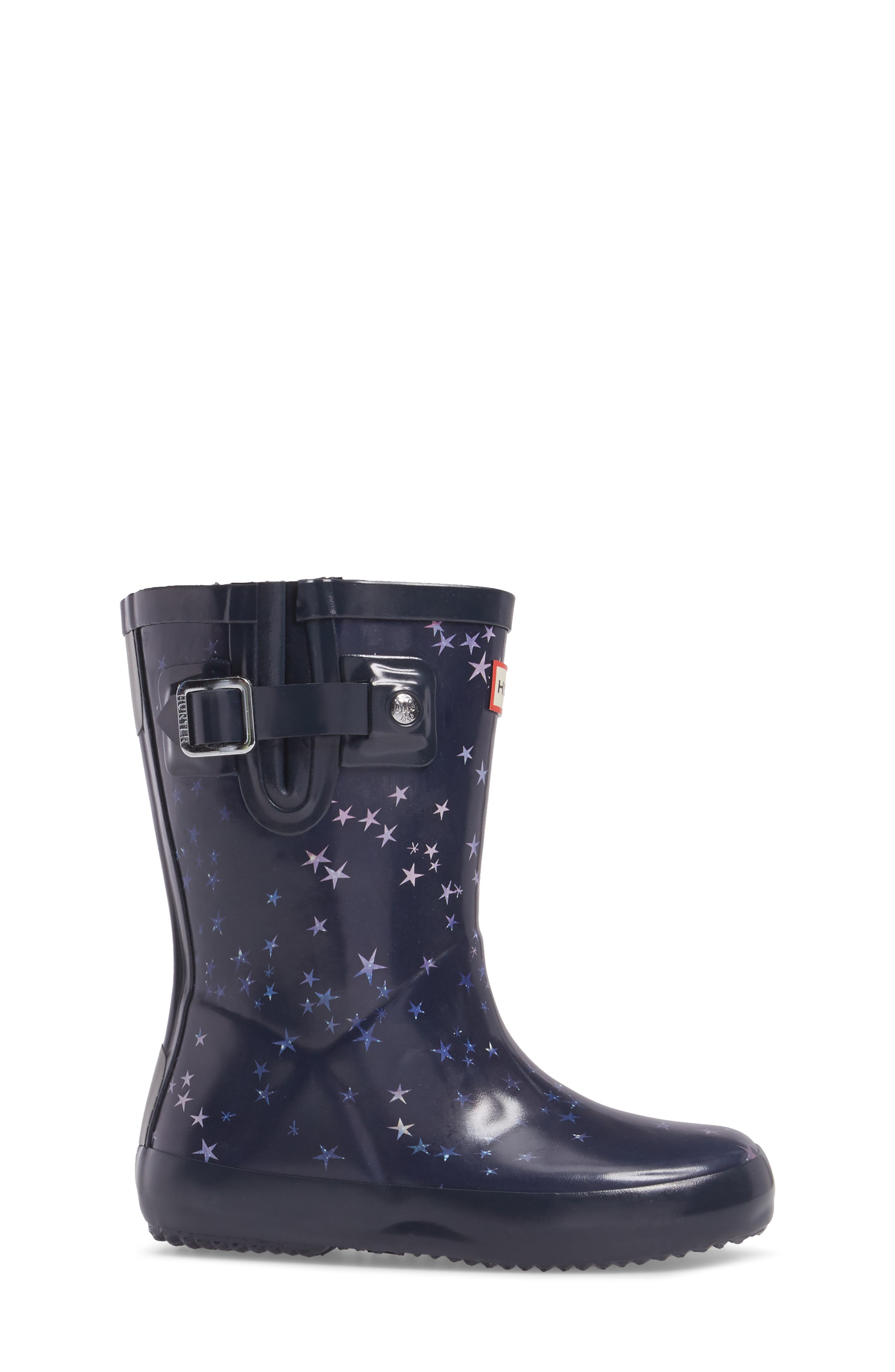 Flat Sole Constellation Waterproof Rain Boot,                             Alternate thumbnail 3, color,                             483