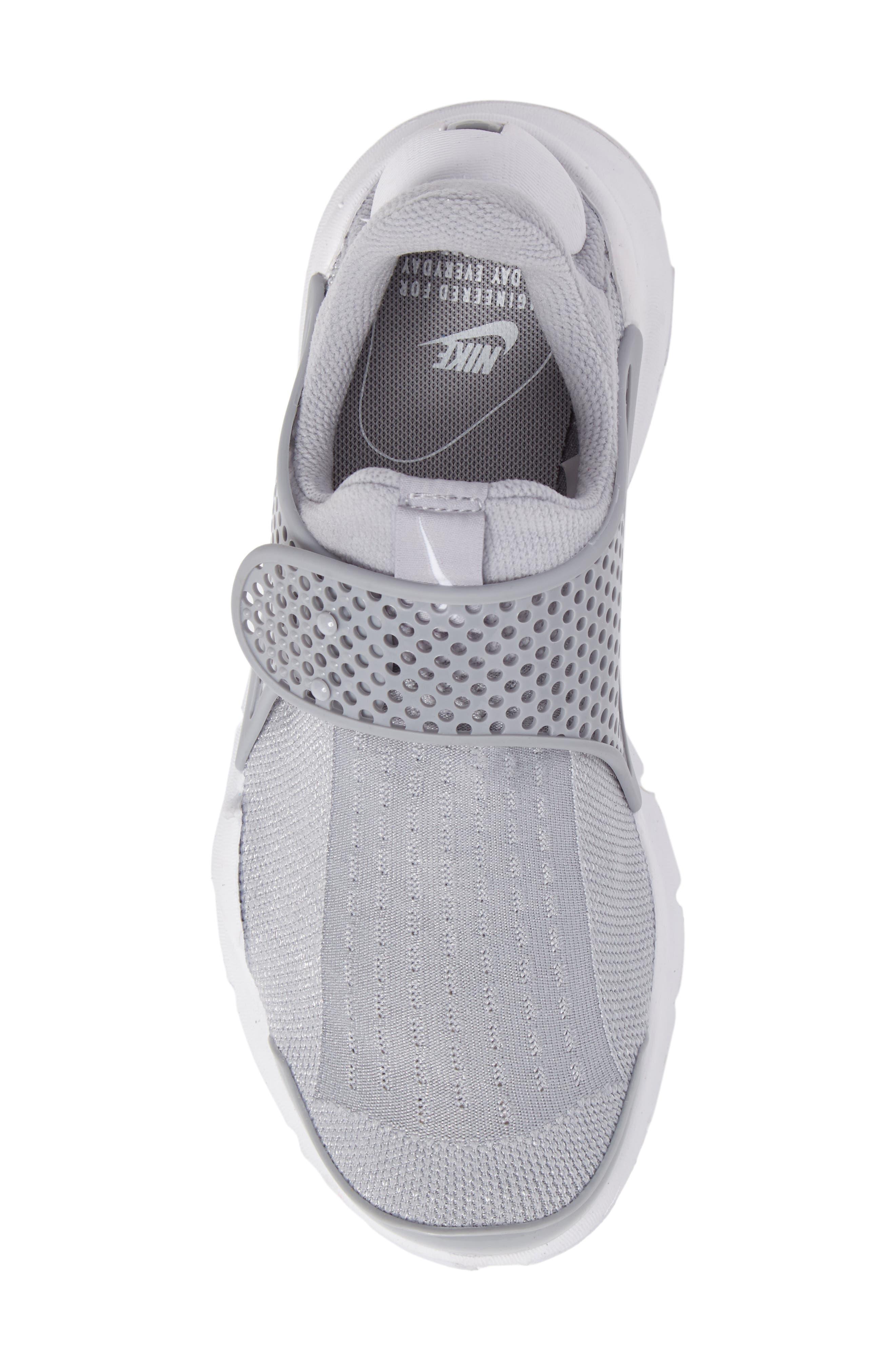 Sock Dart Sneaker,                             Alternate thumbnail 5, color,                             020