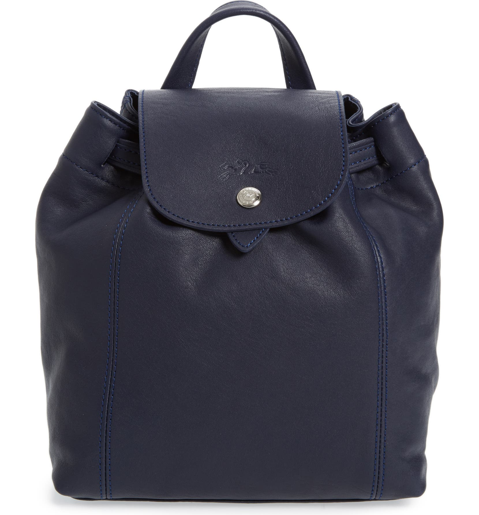 Longchamp Extra Small Le Pliage Cuir Backpack  16d10e332f5cb