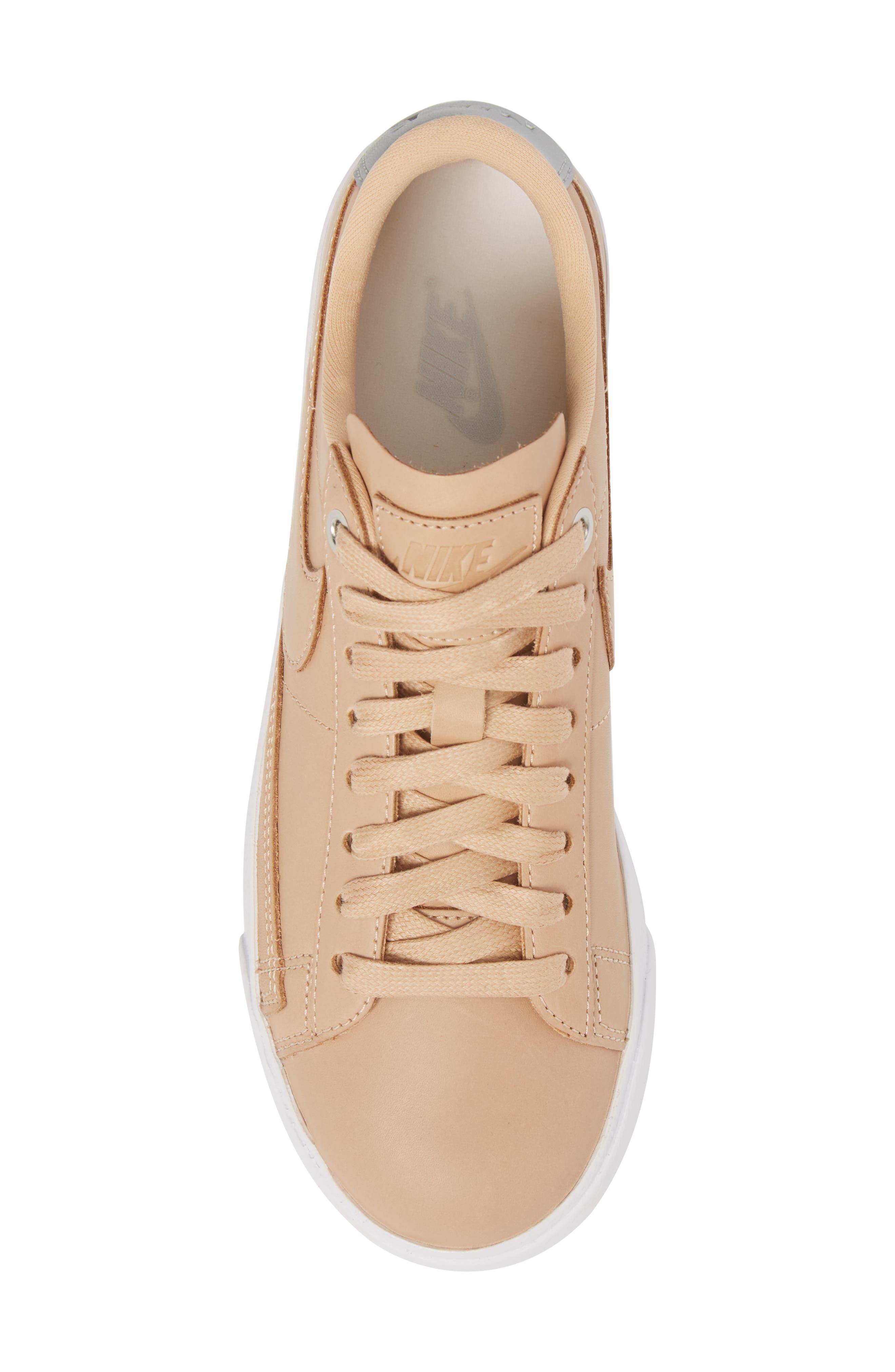 Blazer Low Top Sneaker SE,                             Alternate thumbnail 5, color,                             BIO BEIGE/ BIO BEIGE