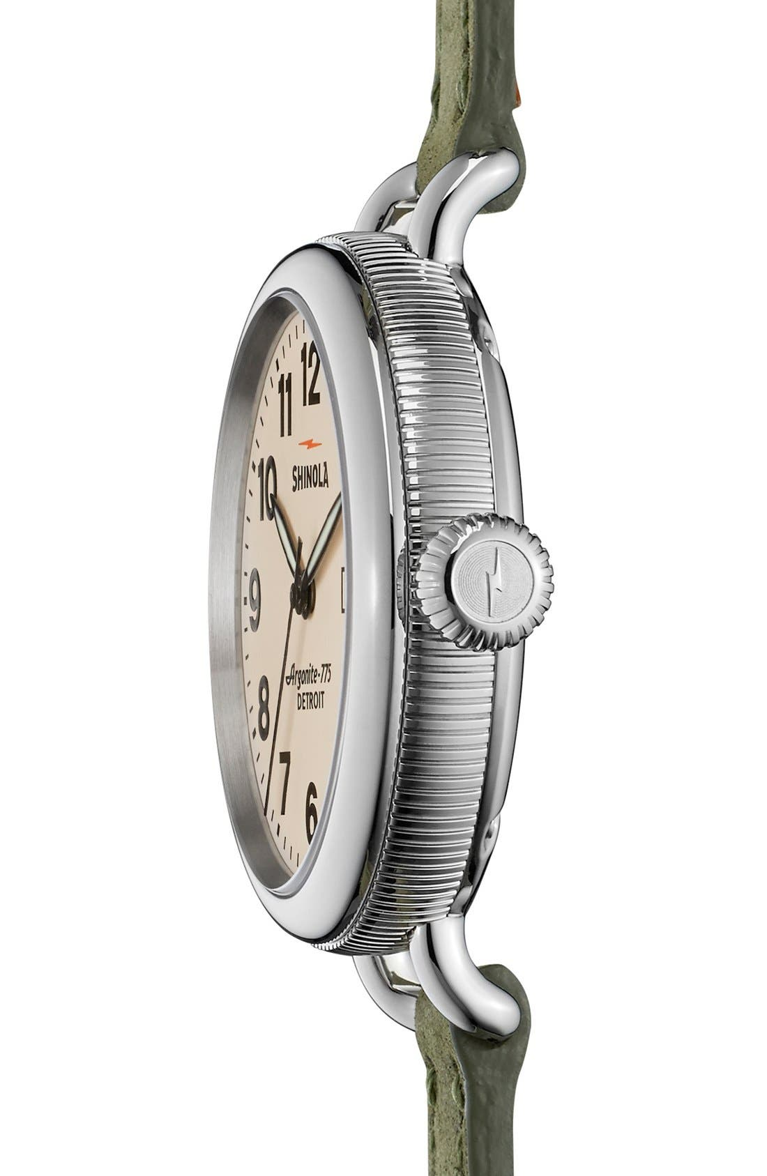 'The Birdy' Double Wrap Leather Strap Watch, 34mm,                             Alternate thumbnail 60, color,