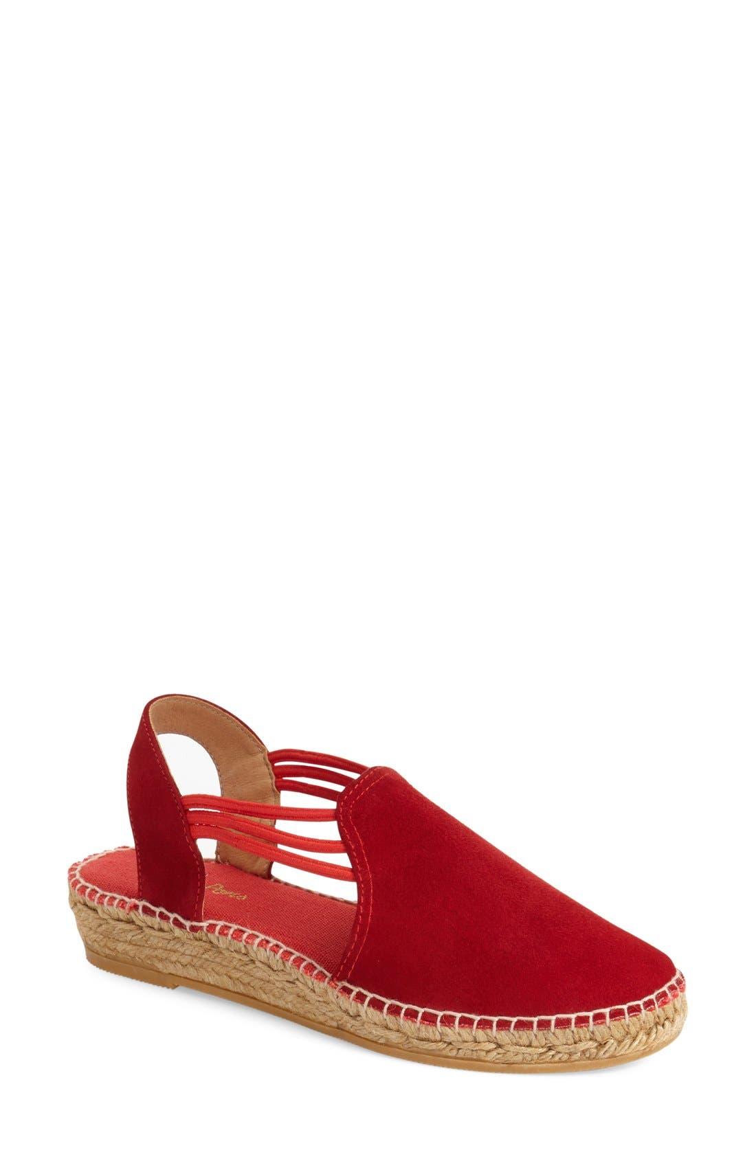 'Nuria' Suede Sandal,                         Main,                         color, 600