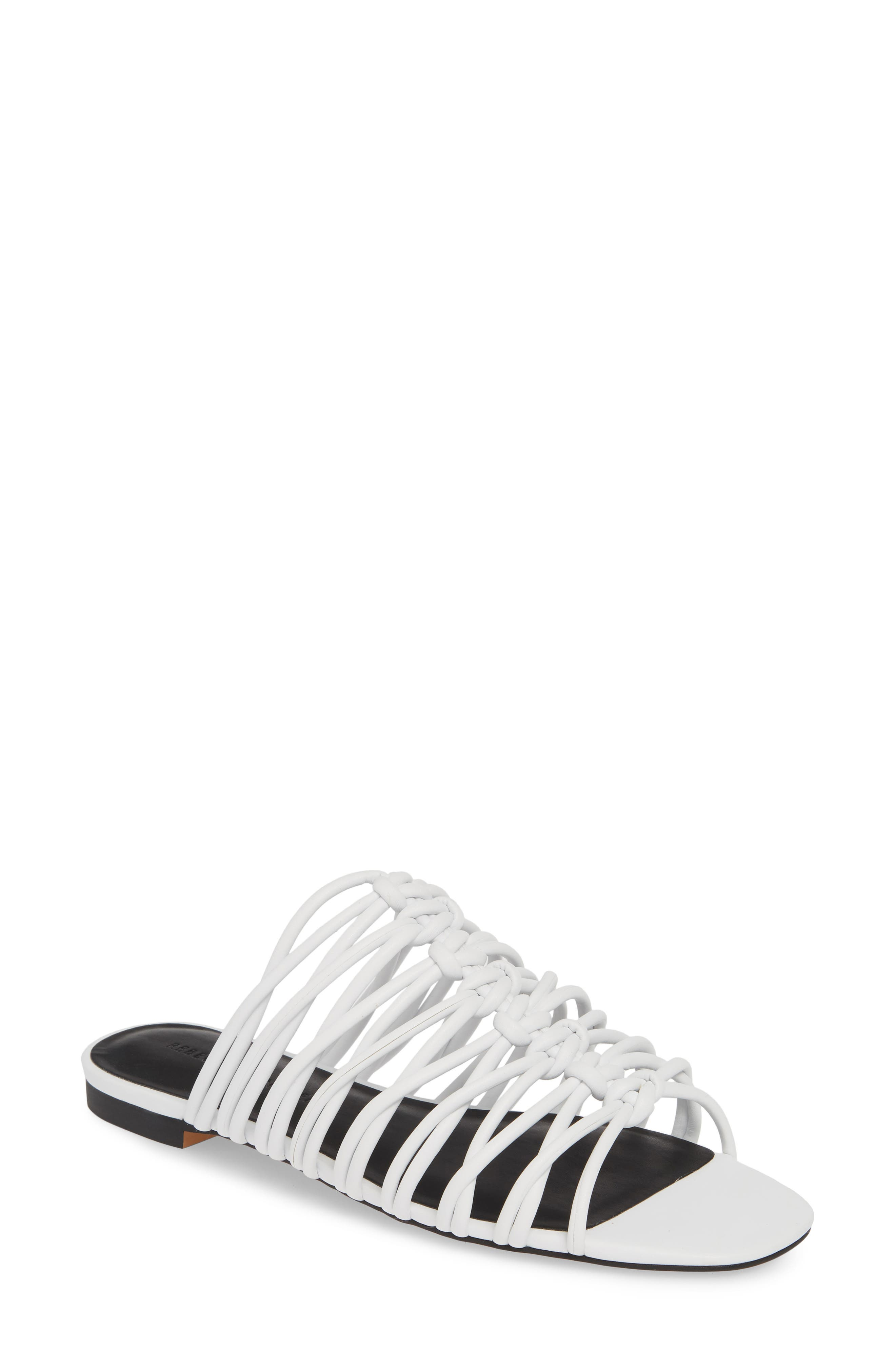 Rebecca Minkoff Maelynn Slide Sandal, White