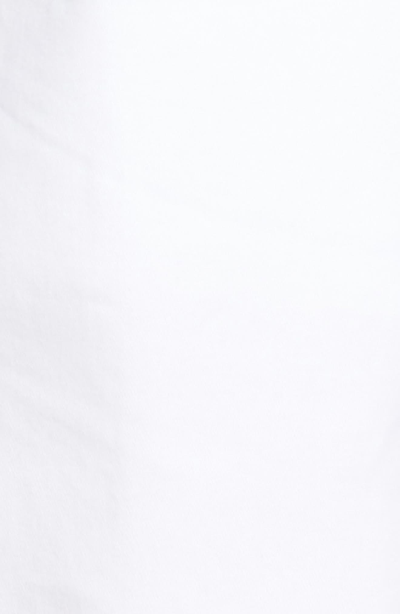 Ballard Slim Fit Stretch Chino 9-Inch Shorts,                             Alternate thumbnail 5, color,                             WHITE