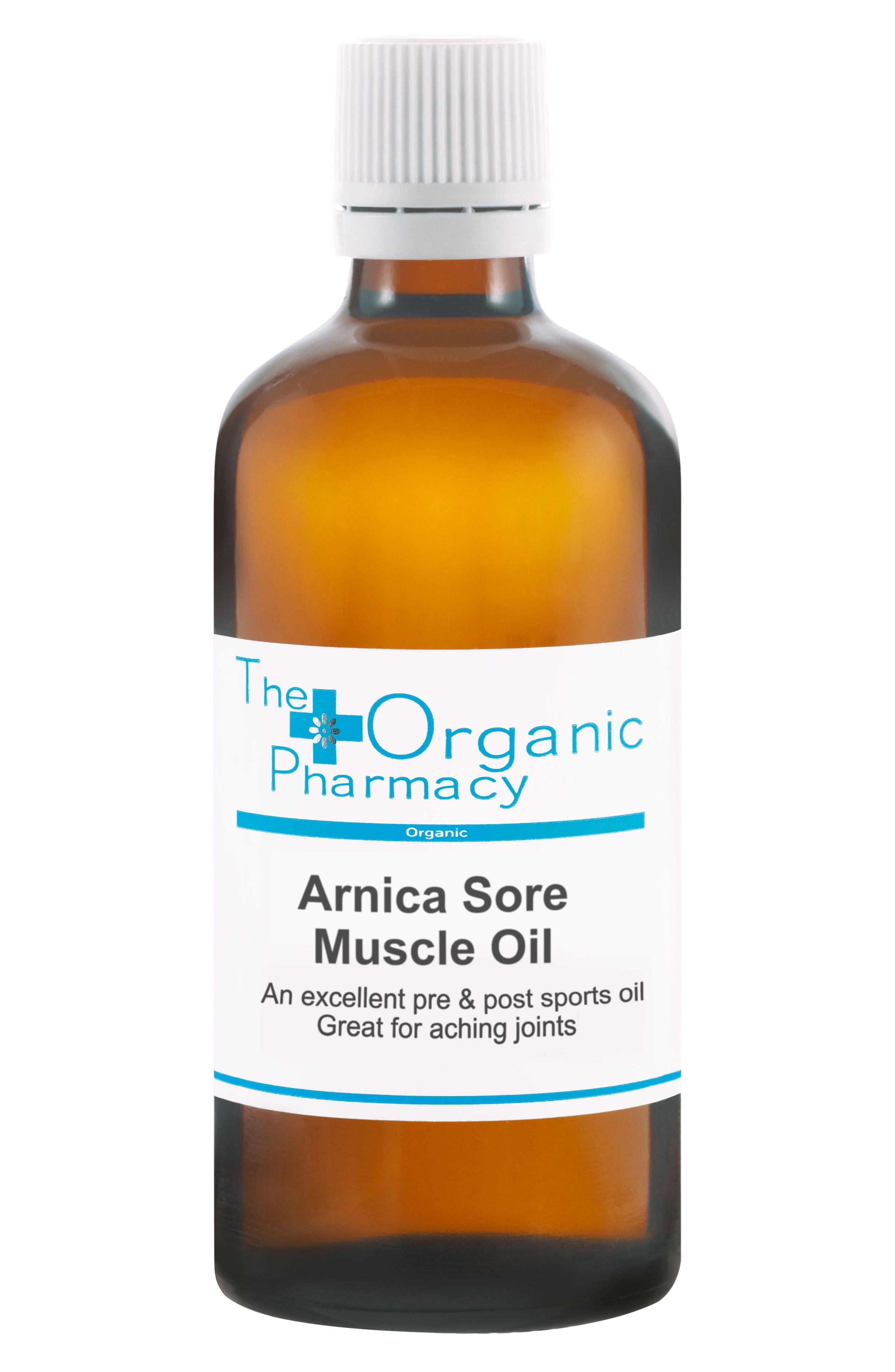 Arnica Sore Muscle Oil,                             Main thumbnail 1, color,                             000