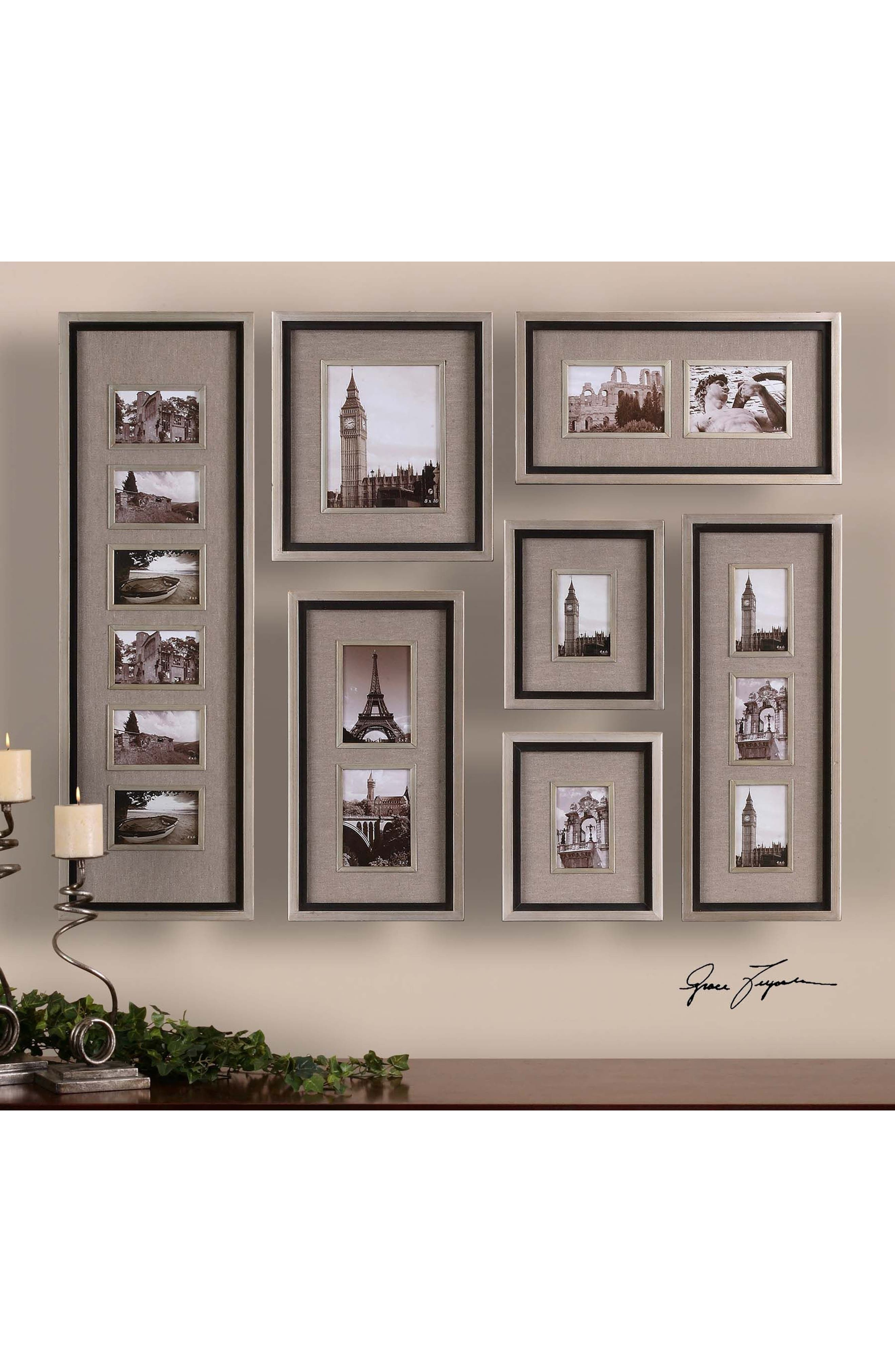Massena Set of 7 Picture Frames,                             Alternate thumbnail 3, color,                             020