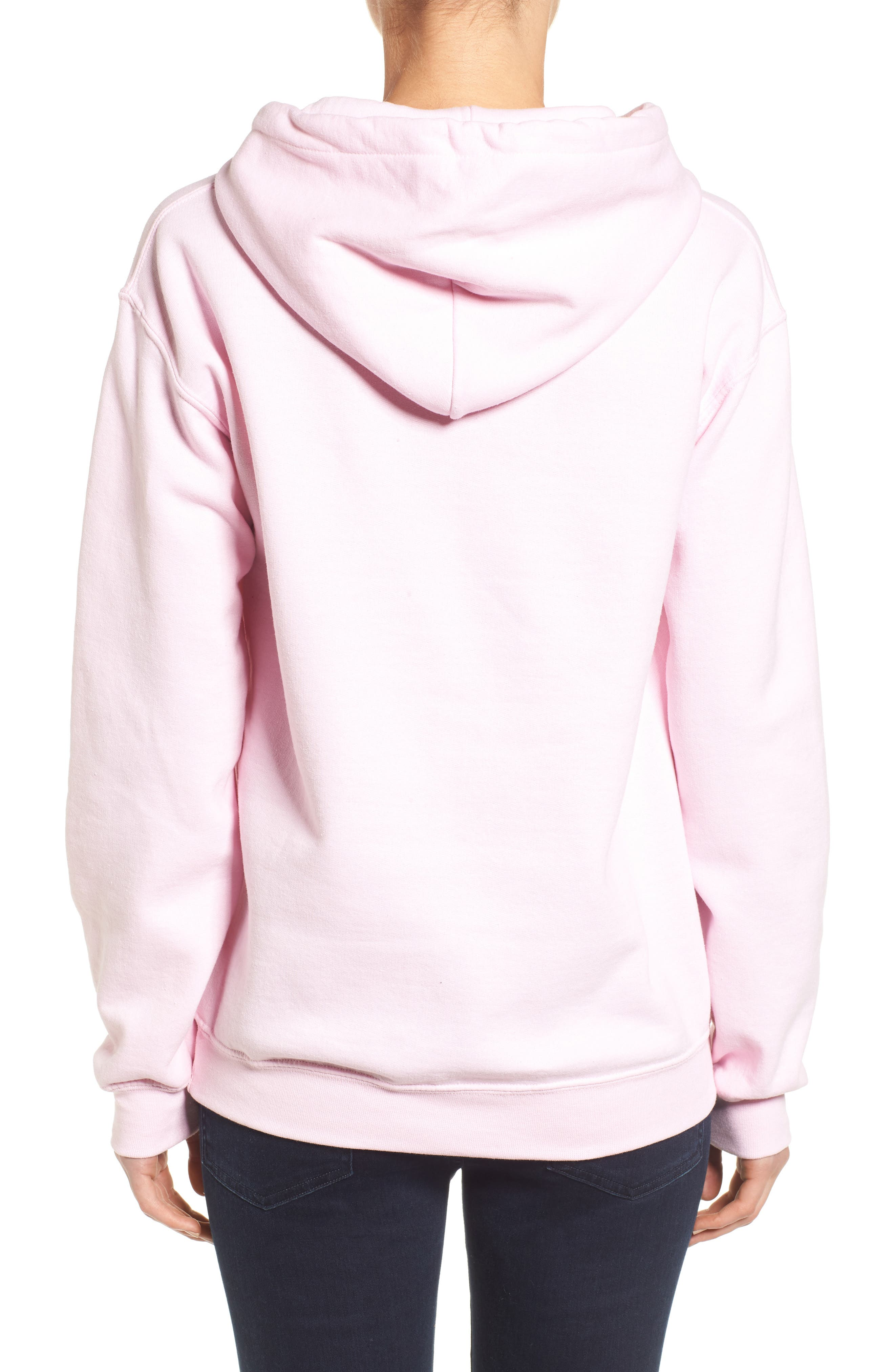 Girl Power Hoodie,                             Alternate thumbnail 4, color,
